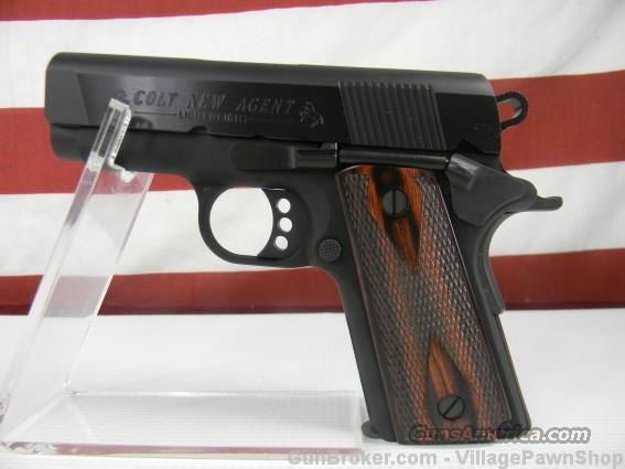 "Colt New Agent 9MM 3"" 07812D 35435  Guns > Pistols > Colt Automatic Pistols (1911 & Var)"