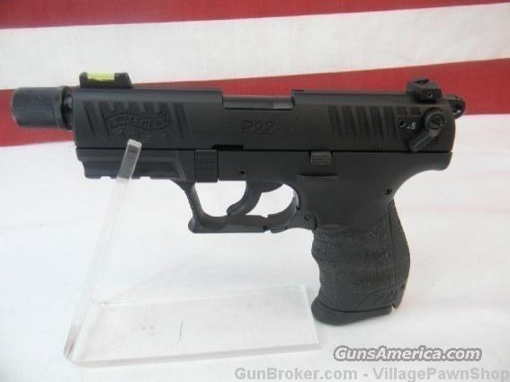 "Walther P22 TB 22LR 3.42"" Tactical Threaded 41985  Guns > Pistols > Walther Pistols > Post WWII > P22"