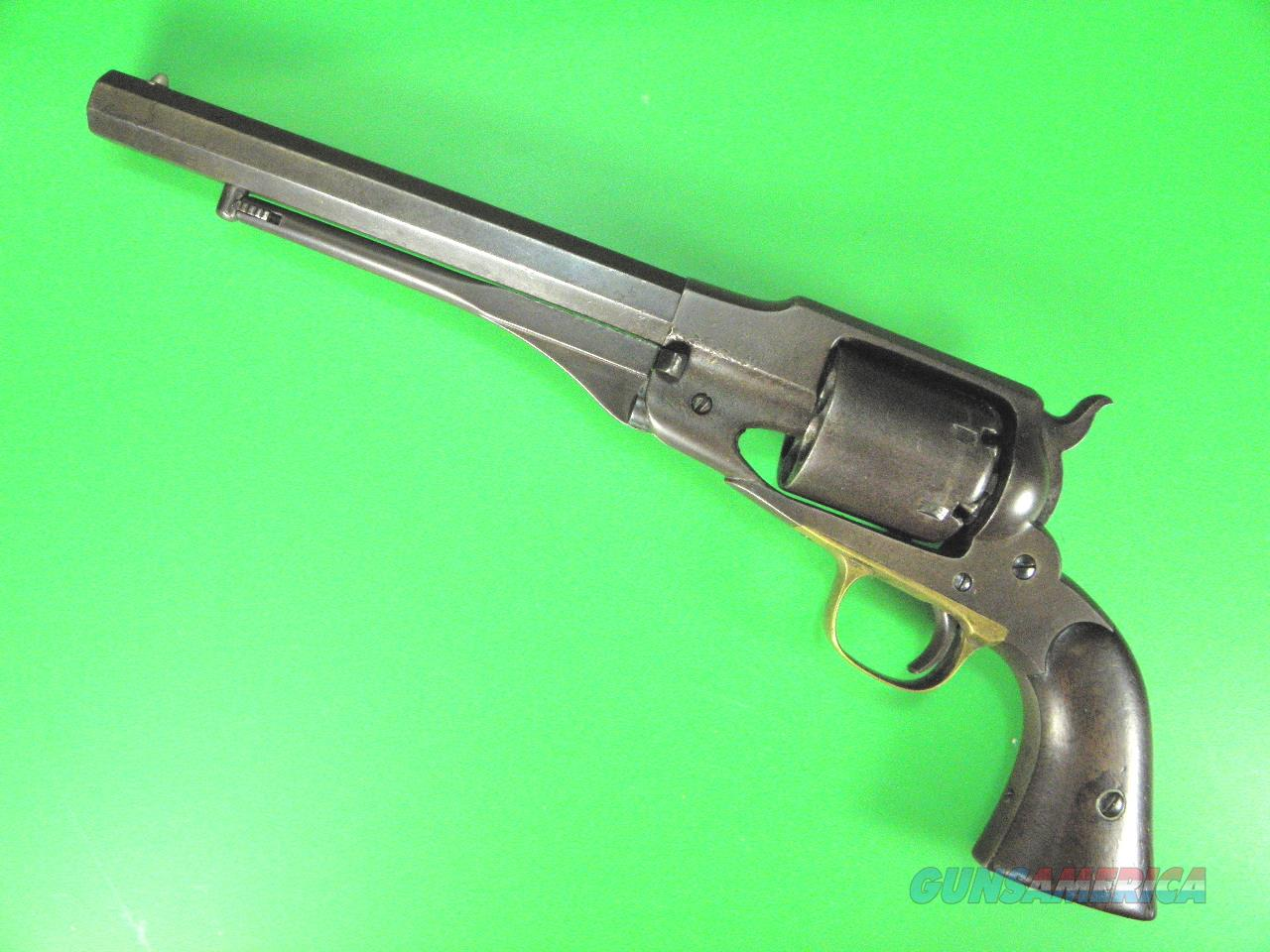 Antique Remington Beals Army .44 Caliber Revolver Mfg in 1858 Low #  Guns > Pistols > Antique (Pre-1899) Pistols - Perc. Misc.