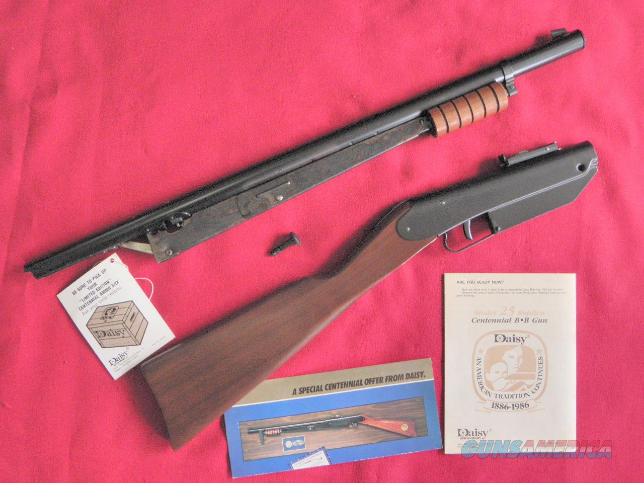 Daisy 25 Centennial Collectors Pump BB-Gun 1986 Mint-in-Box +  Non-Guns > Air Rifles - Pistols > Vintage