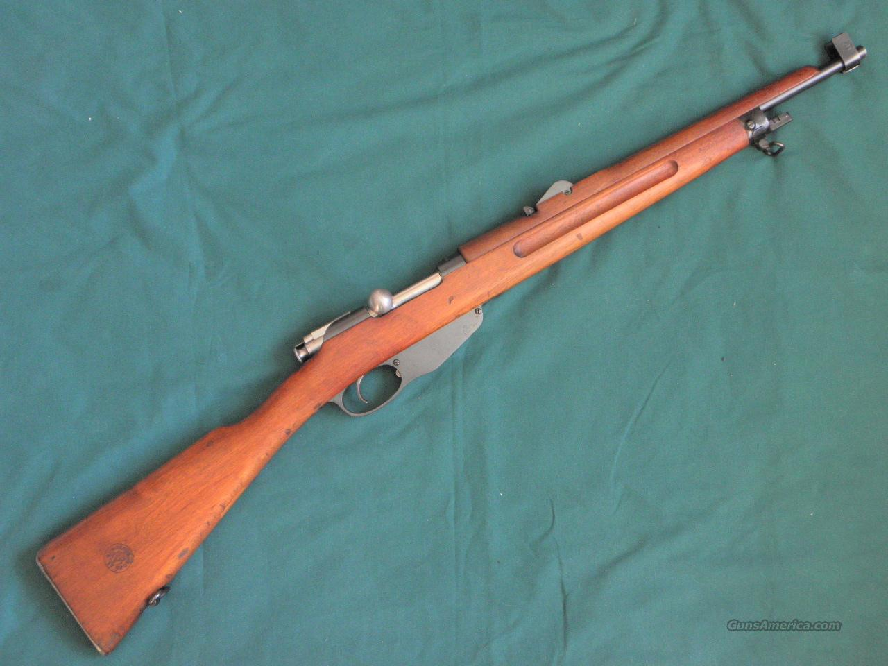 1939 WW 2 Dutch Air Force Mannlicher No. 5 Carbine. Excellent +  Guns > Rifles > Military Misc. Rifles Non-US > Other