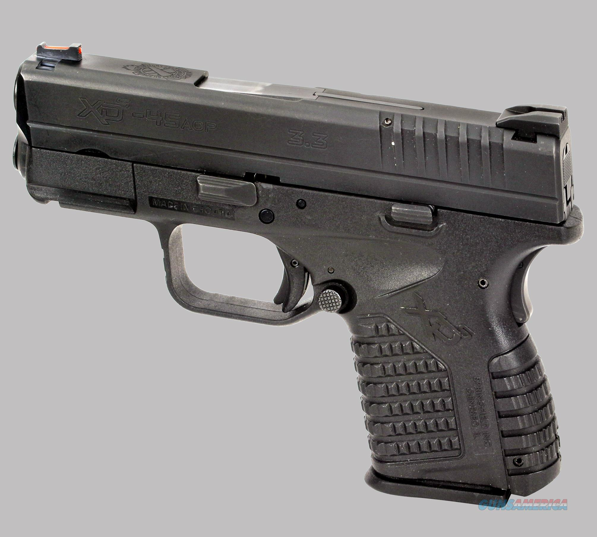 Springfield Armory XD-S Pistol for sale
