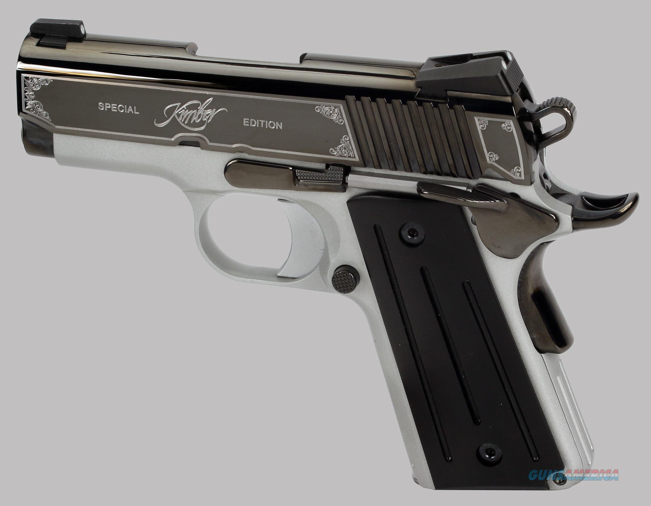 Kimber 45acp Onyx Ultra II Special Edition Pistol  Guns > Pistols > Kimber of America Pistols