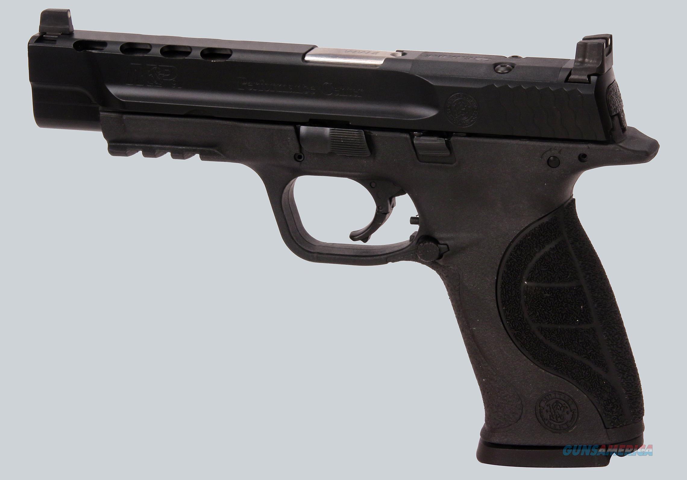 Smith & Wesson 9mm M&P 9L Pistol  Guns > Pistols > Smith & Wesson Pistols - Autos > Polymer Frame