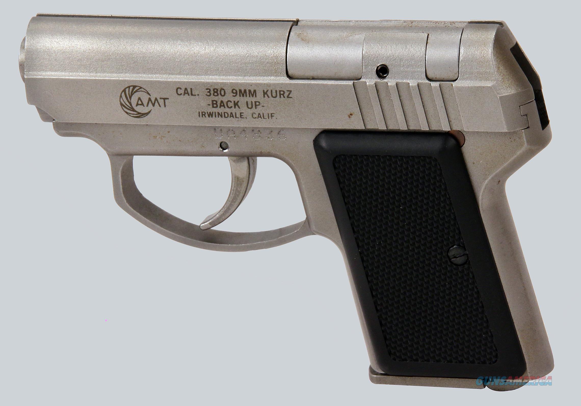 AMT 380acp Backup Pistol  Guns > Pistols > AMT Pistols > Double Action