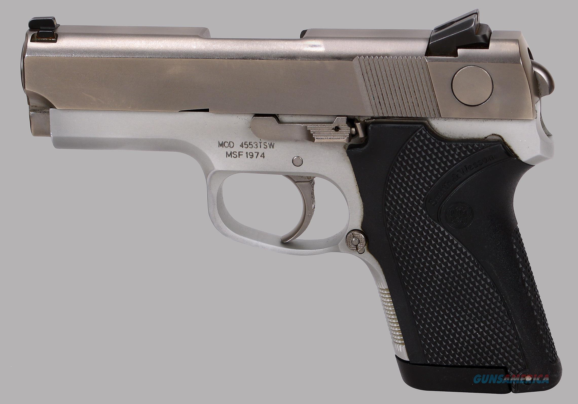 Smith & Wesson 45acp Model 4553 TSW Pistol  Guns > Pistols > Smith & Wesson Pistols - Autos > Steel Frame