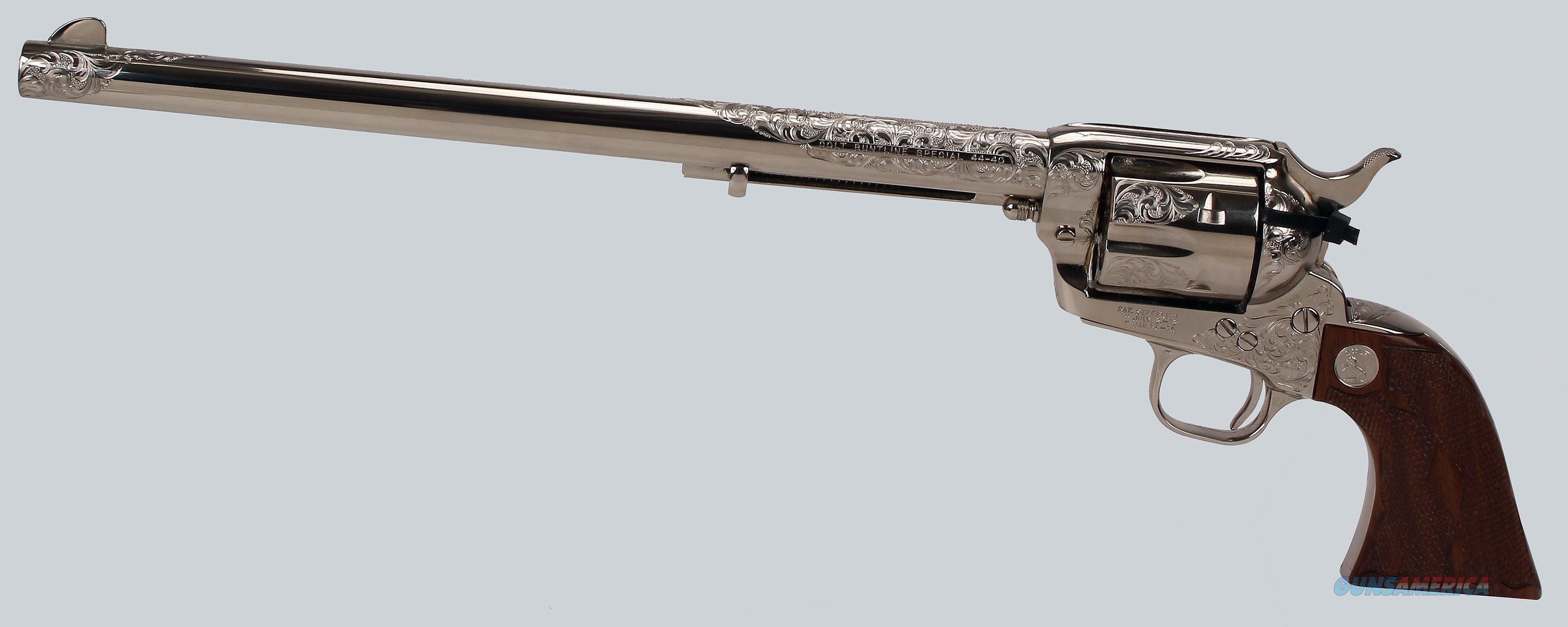 Colt SAA 3rd Gen 44-40cal Buntline Special Revolver  Guns > Pistols > Colt Single Action Revolvers - 3rd Gen.
