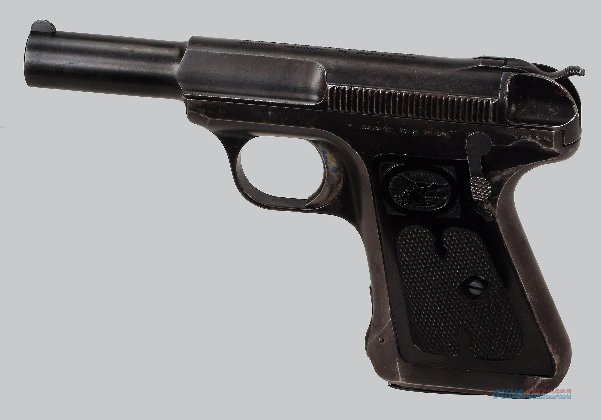 Savage 1917 32acp Pistol  Guns > Pistols > Savage Pistols