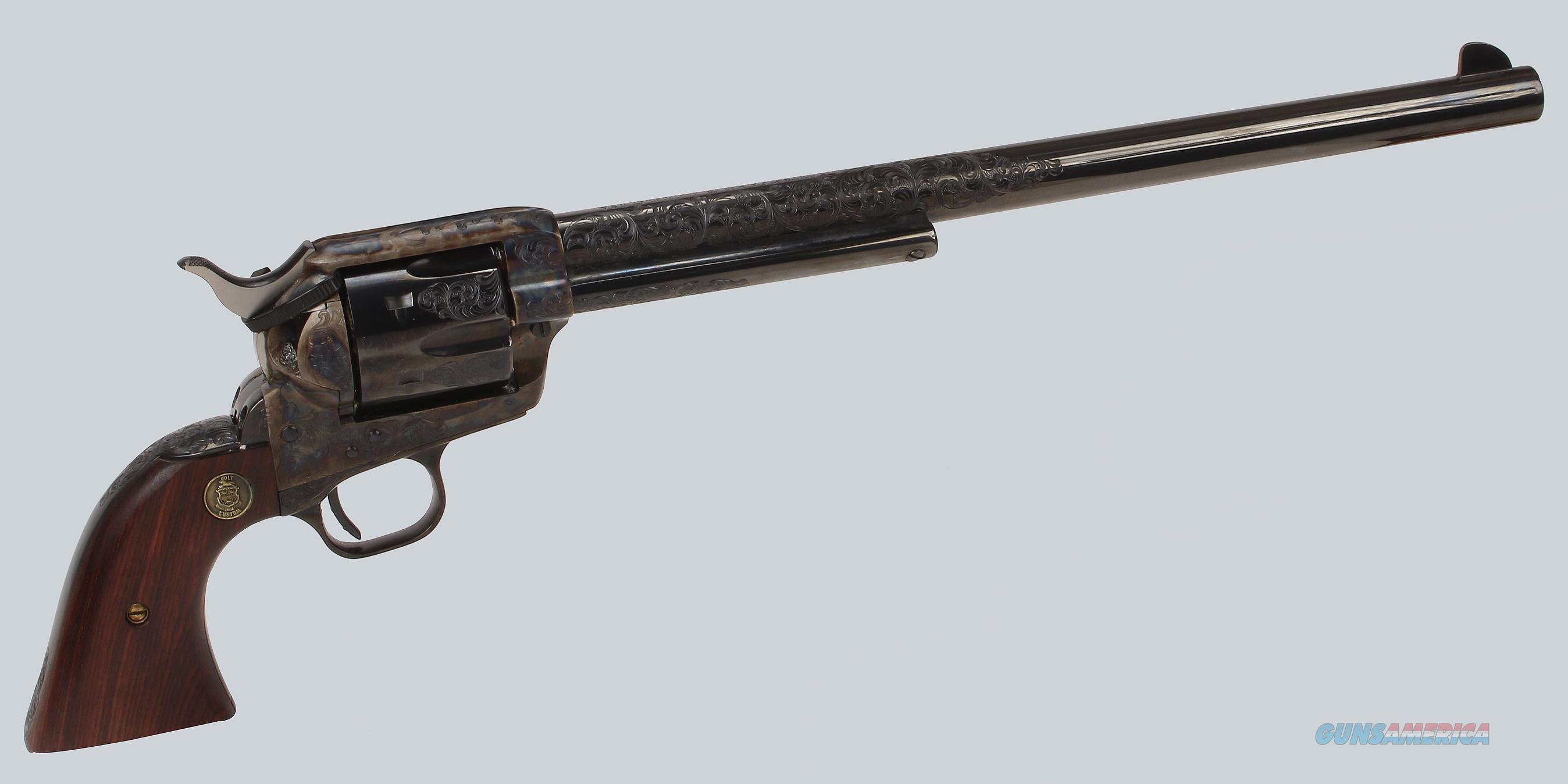 Colt SAA Buntline Special 3rd Gen 45LC Revolver  Guns > Pistols > Colt Single Action Revolvers - 3rd Gen.