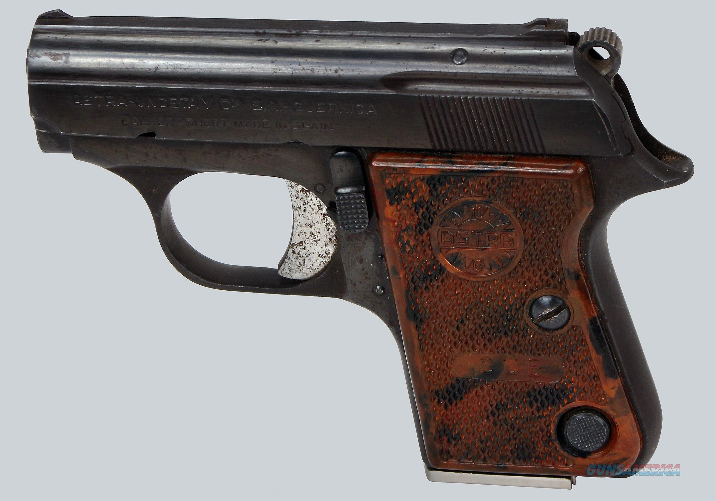 ASTRA Cub 22 Short Cal Pistol  Guns > Pistols > Astra Pistols