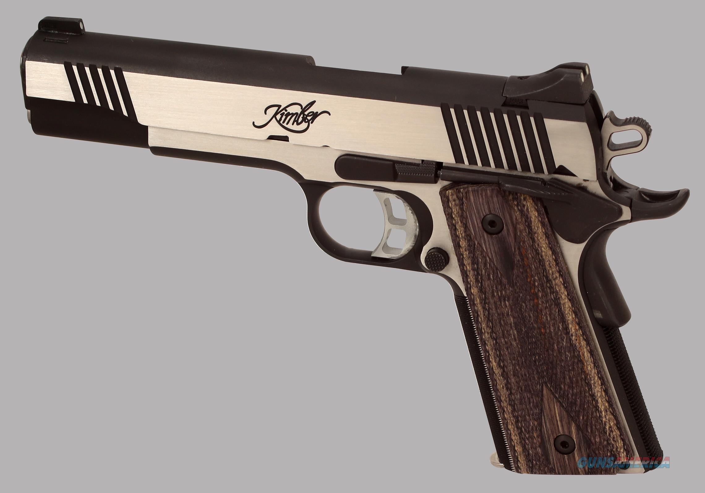 Kimber 10mm Eclipse Custom II Pistol  Guns > Pistols > Kimber of America Pistols > 1911