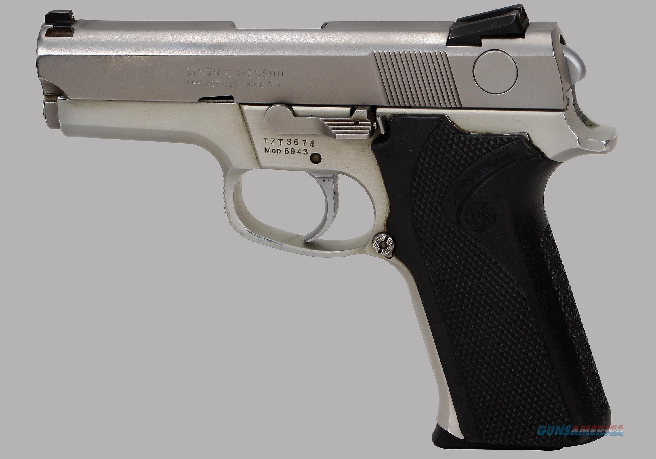 Smith & Wesson 9mm Model 5943 Pistol  Guns > Pistols > Smith & Wesson Pistols - Autos > Steel Frame