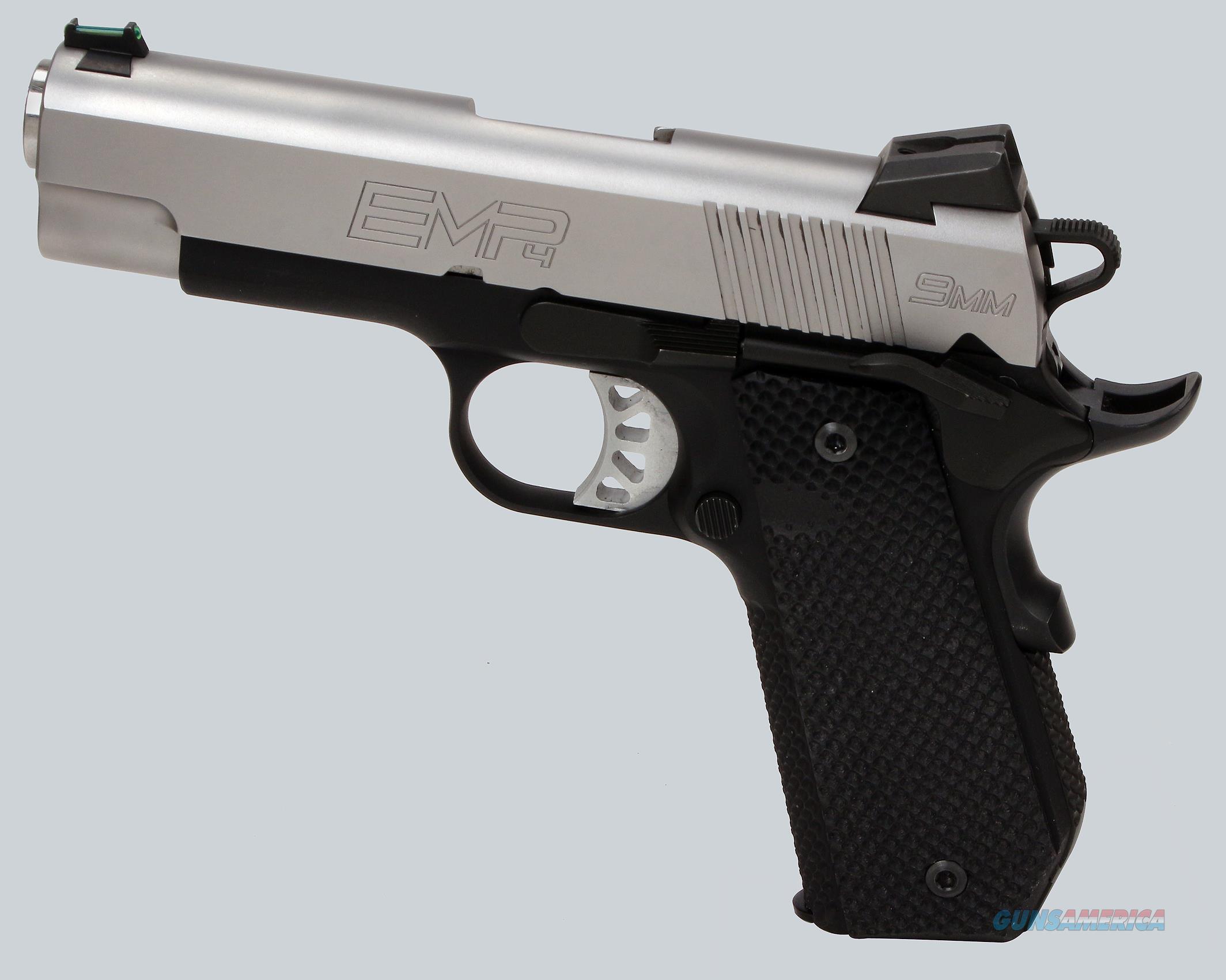 Springfield Armory 9mm EMP 4 Pistol  Guns > Pistols > Springfield Armory Pistols > 1911 Type