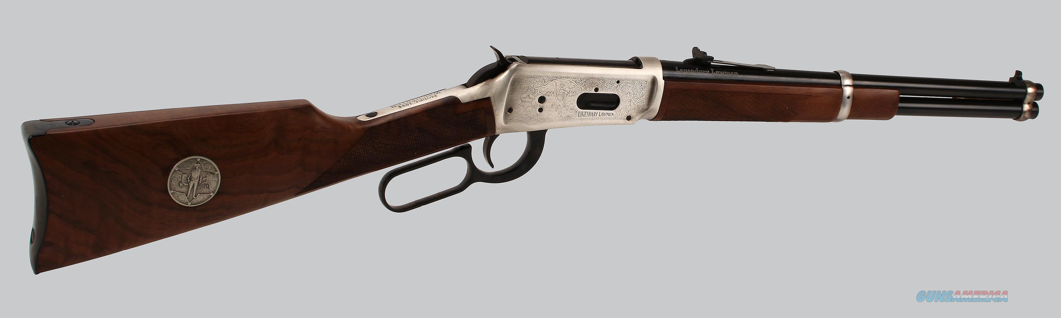 Winchester 30-30 Legendary Lawman Lever Action Rifle  Guns > Rifles > Winchester Rifle Commemoratives