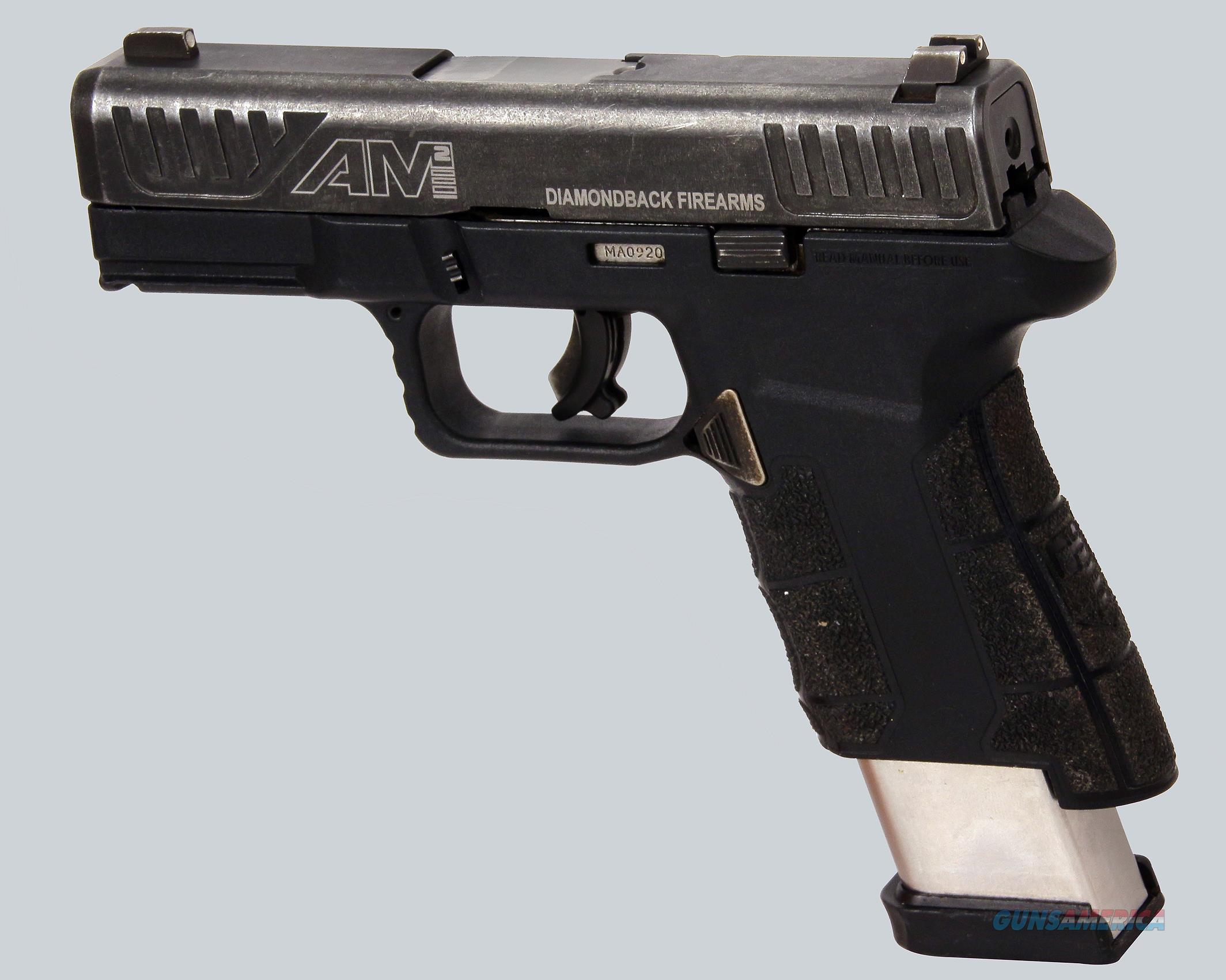 Diamonback 9mm AM2 Pistol  Guns > Pistols > Diamondback Pistols