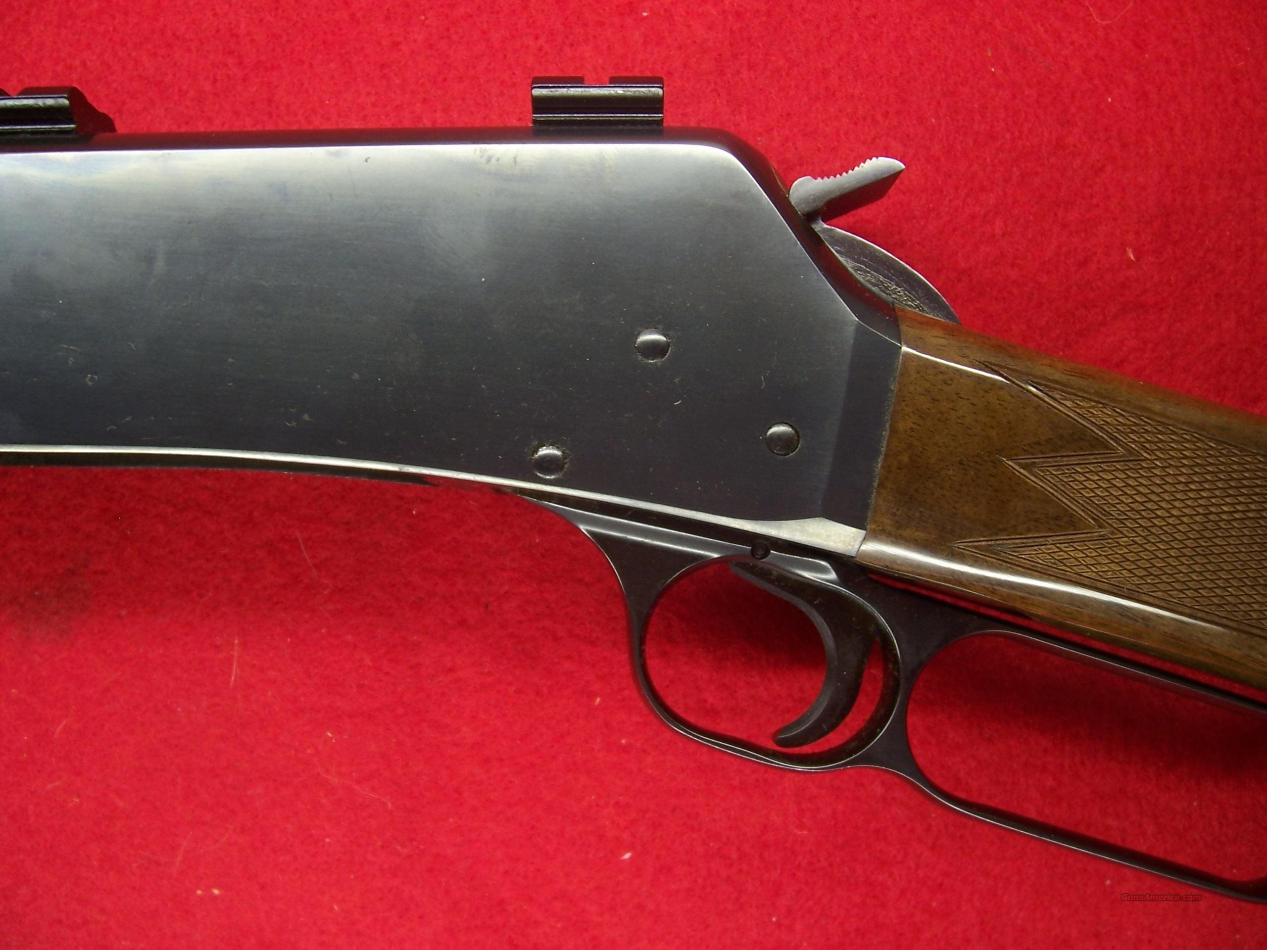 "BROWNING RIFLE LEVER-ACTION BLR .358CAL BARREL 20""  Guns > Rifles > Browning Rifles > Lever Action"