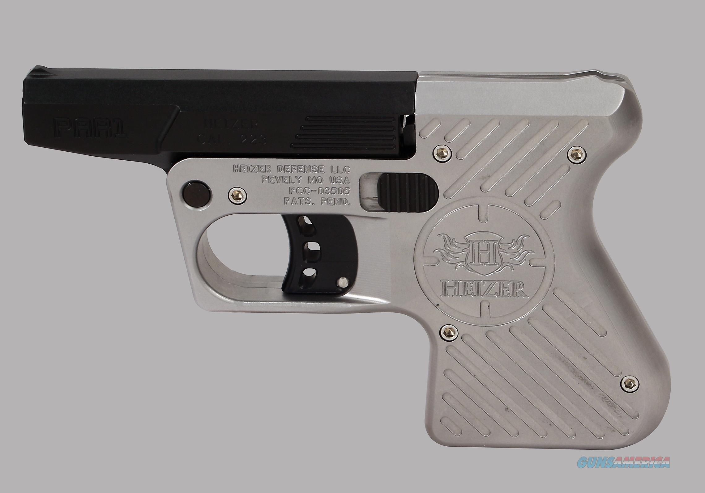 Heizer PS1 Single Shot .223 Rem Pistol  Guns > Pistols > H Misc Pistols