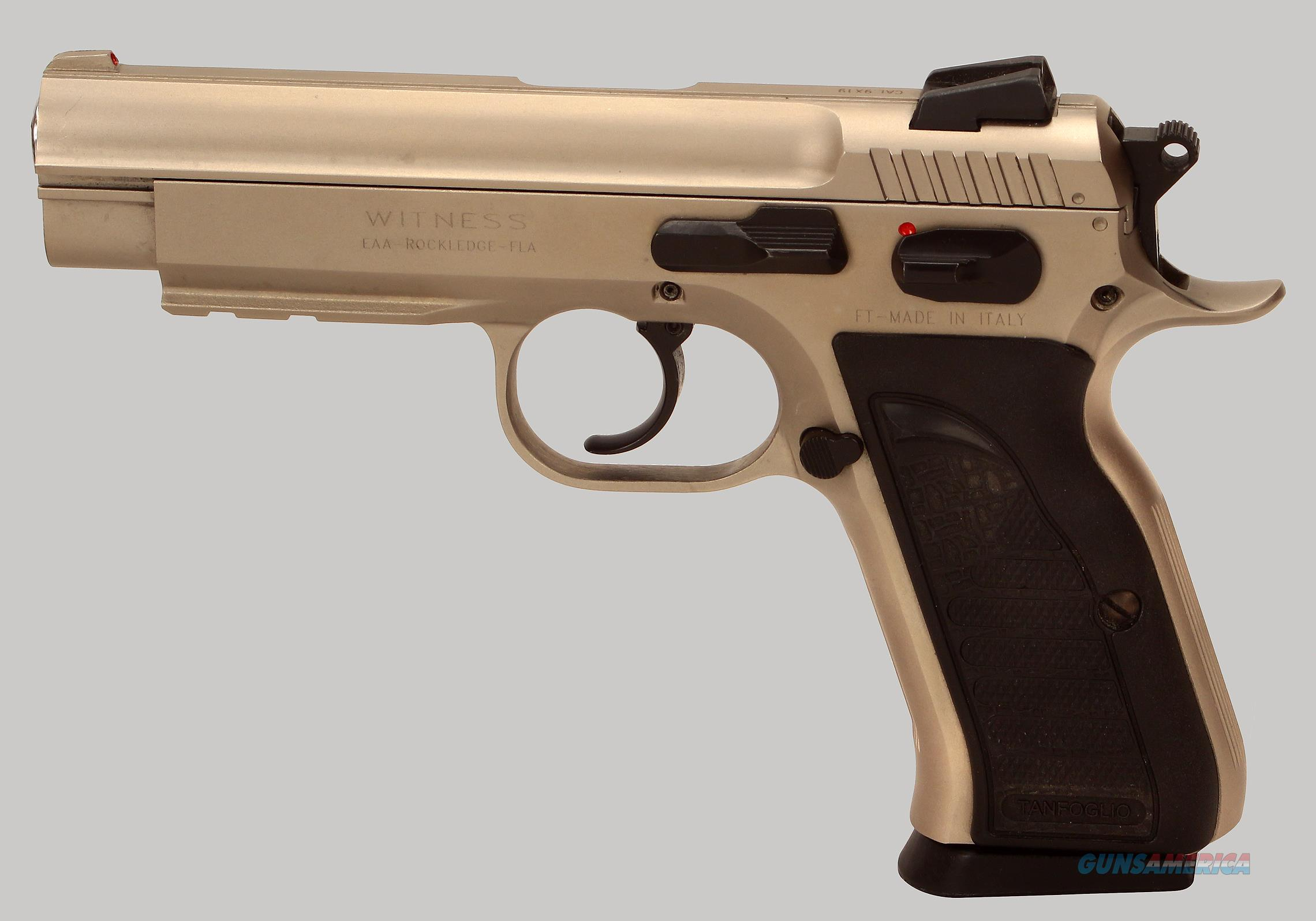 Tanfoglio (EAA) 9mm Witness Pistol  Guns > Pistols > EAA Pistols > Other
