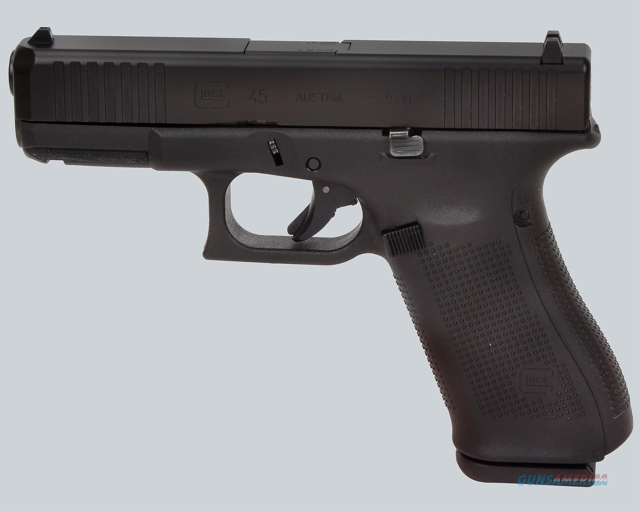 Glock 9mm Model 45 Gen 5 Pistol  Guns > Pistols > Glock Pistols > 45