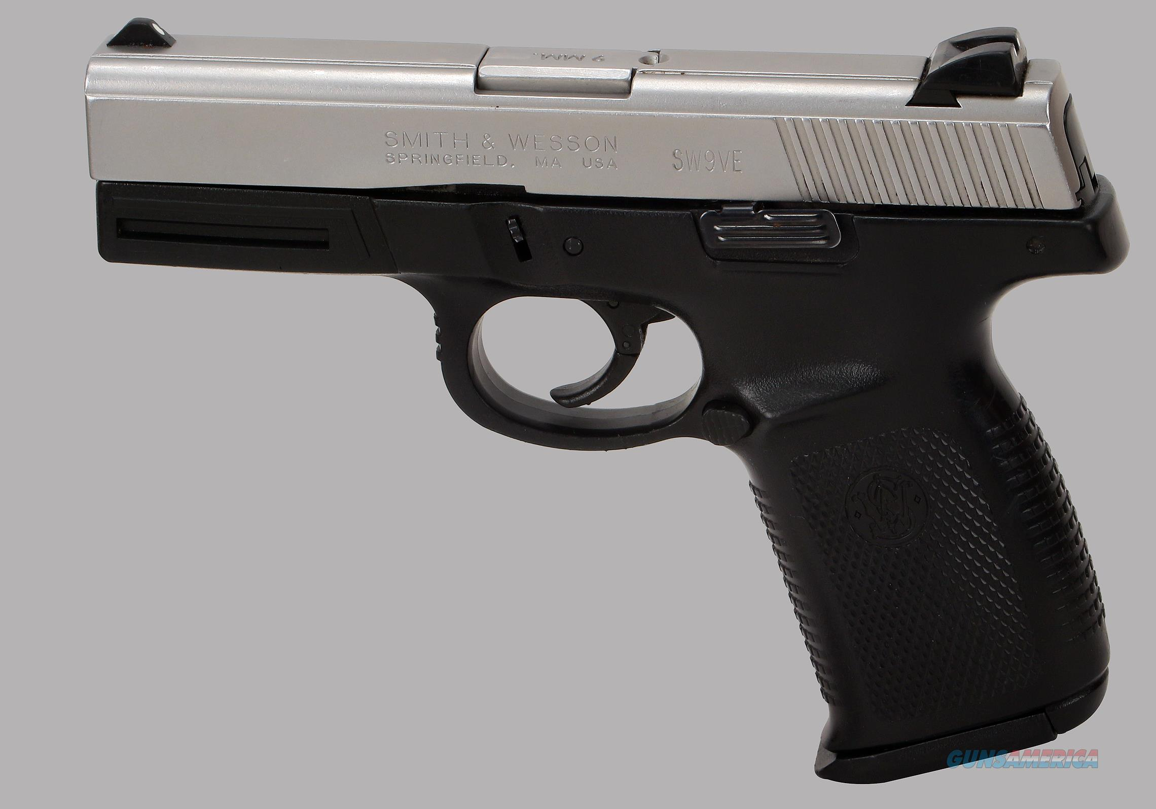 Smith & Wesson 9mm Model SW9VE Pistol  Guns > Pistols > Smith & Wesson Pistols - Autos > Polymer Frame