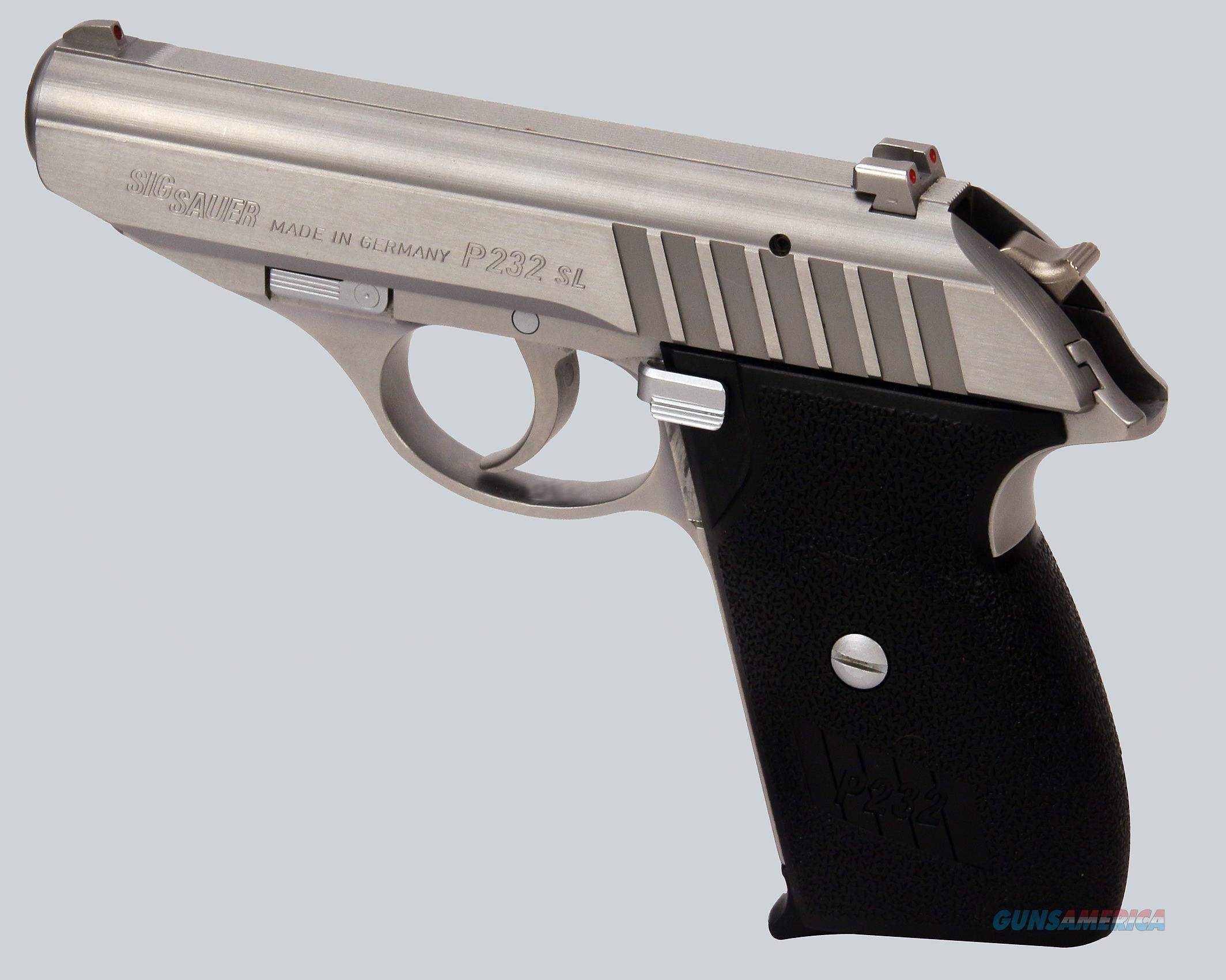 Sig Sauer 380acp P232 Pistol  Guns > Pistols > Sig - Sauer/Sigarms Pistols > P232