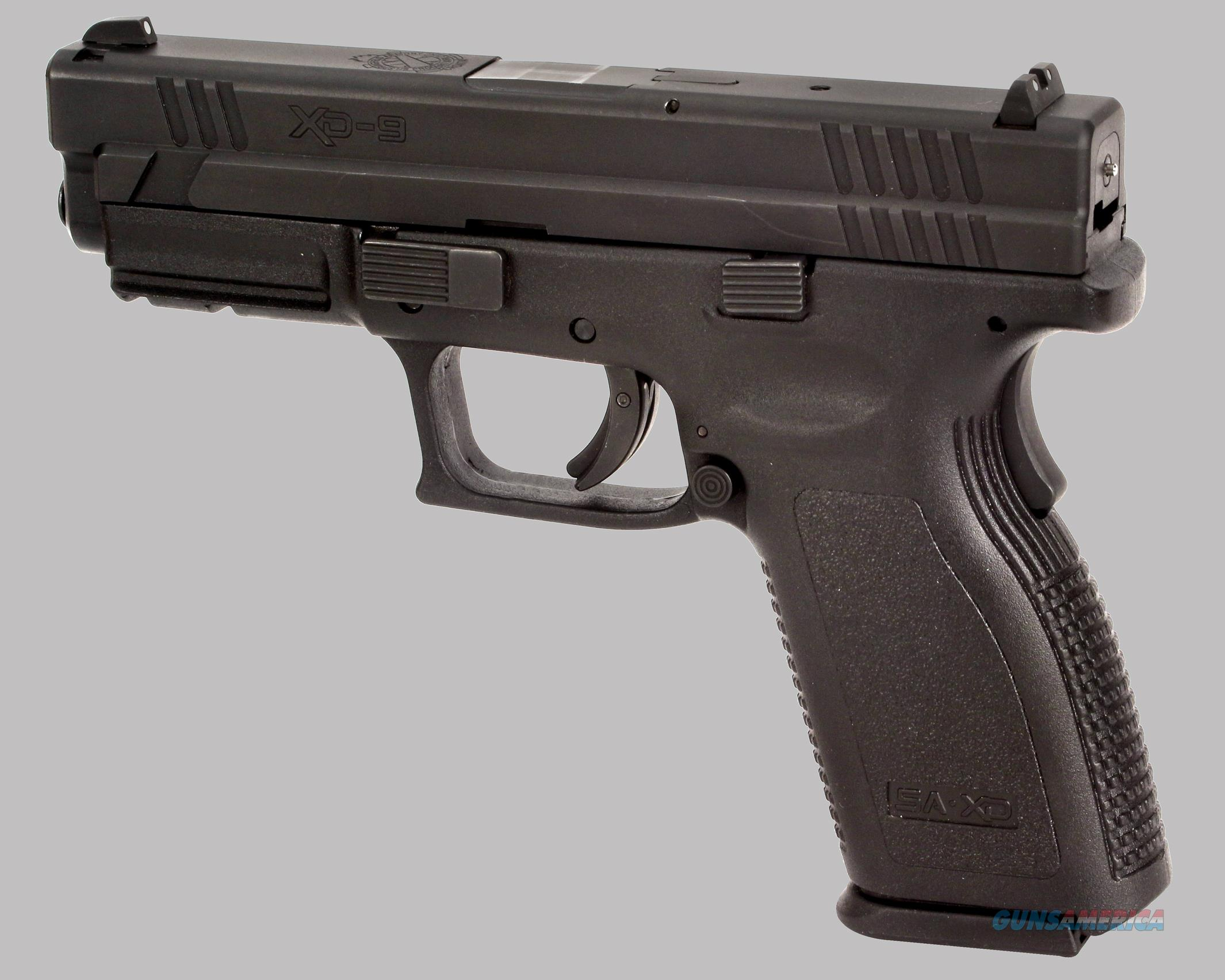 Springfield Armory Xd9 Pistol For Sale