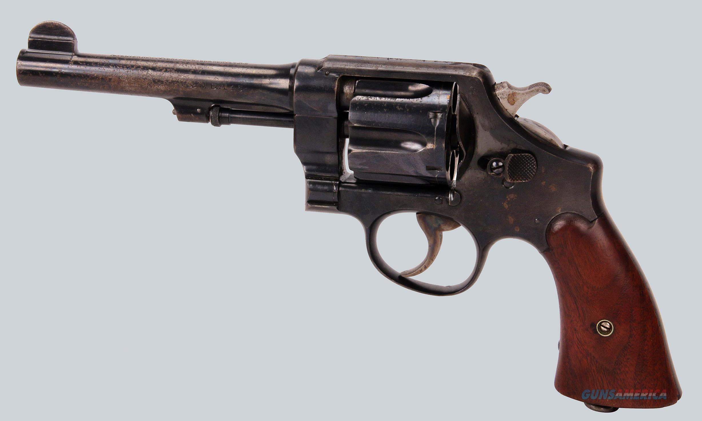Smith & Wesson 45acp 1917 Revolver  Guns > Pistols > Smith & Wesson Revolvers > Full Frame Revolver
