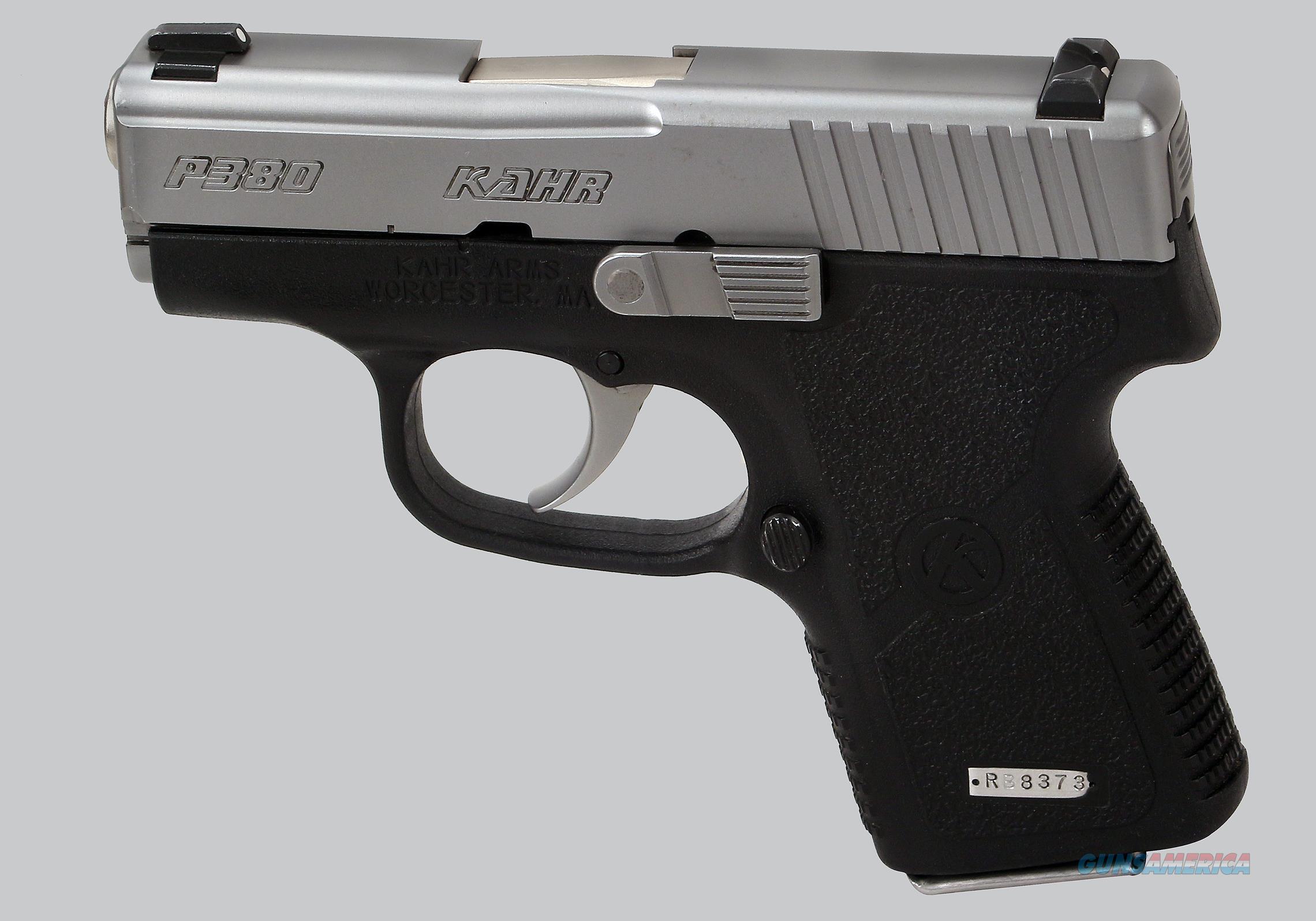 Kahr Arms 380acp Model P380 Pistol  Guns > Pistols > Kahr Pistols