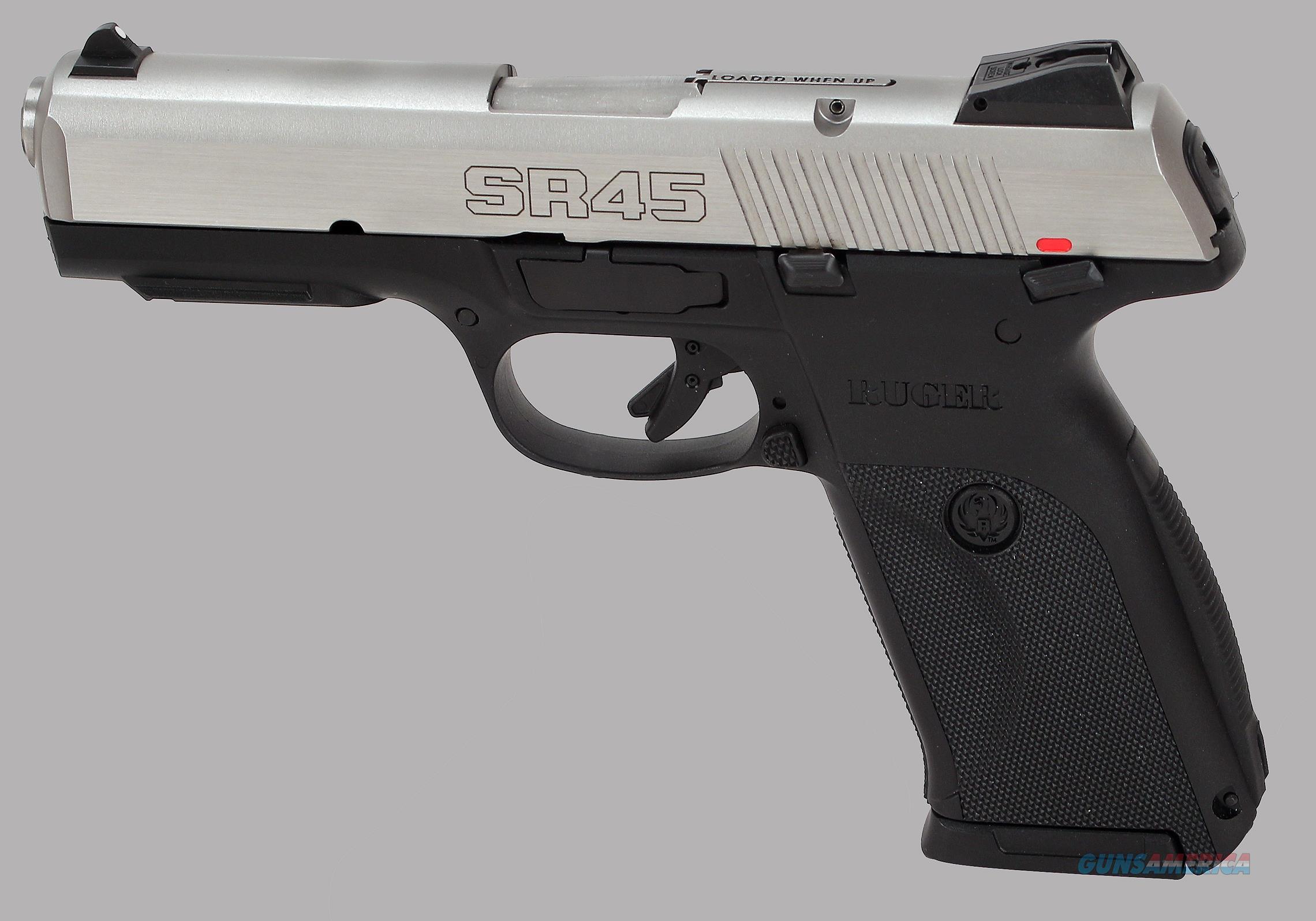 Ruger 45acp SR45 Pistol  Guns > Pistols > Ruger Semi-Auto Pistols > SR Family > SR45