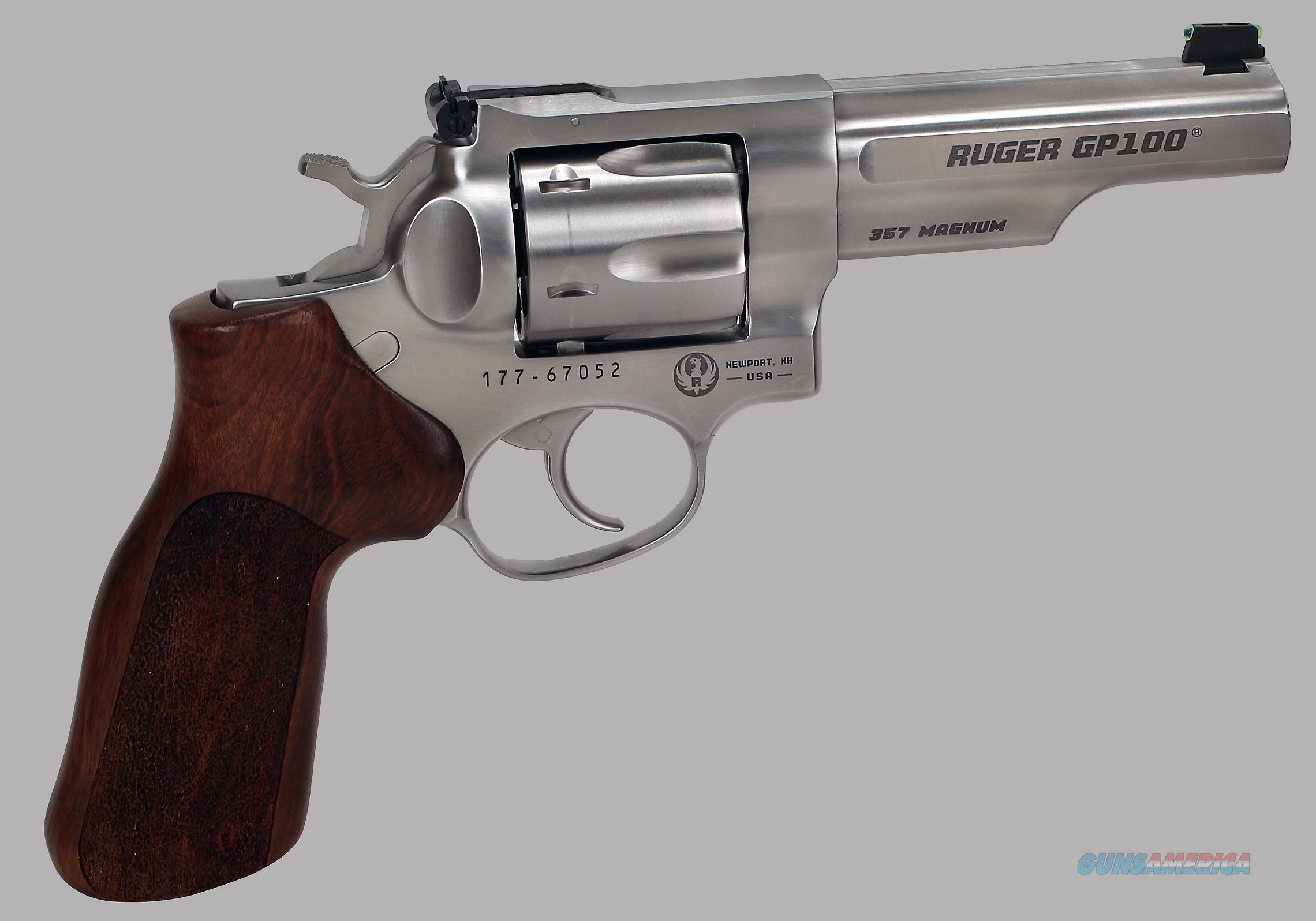 Ruger GP100 Match Champion 357 Magnum Revolver  Guns > Pistols > Ruger Double Action Revolver > GP100