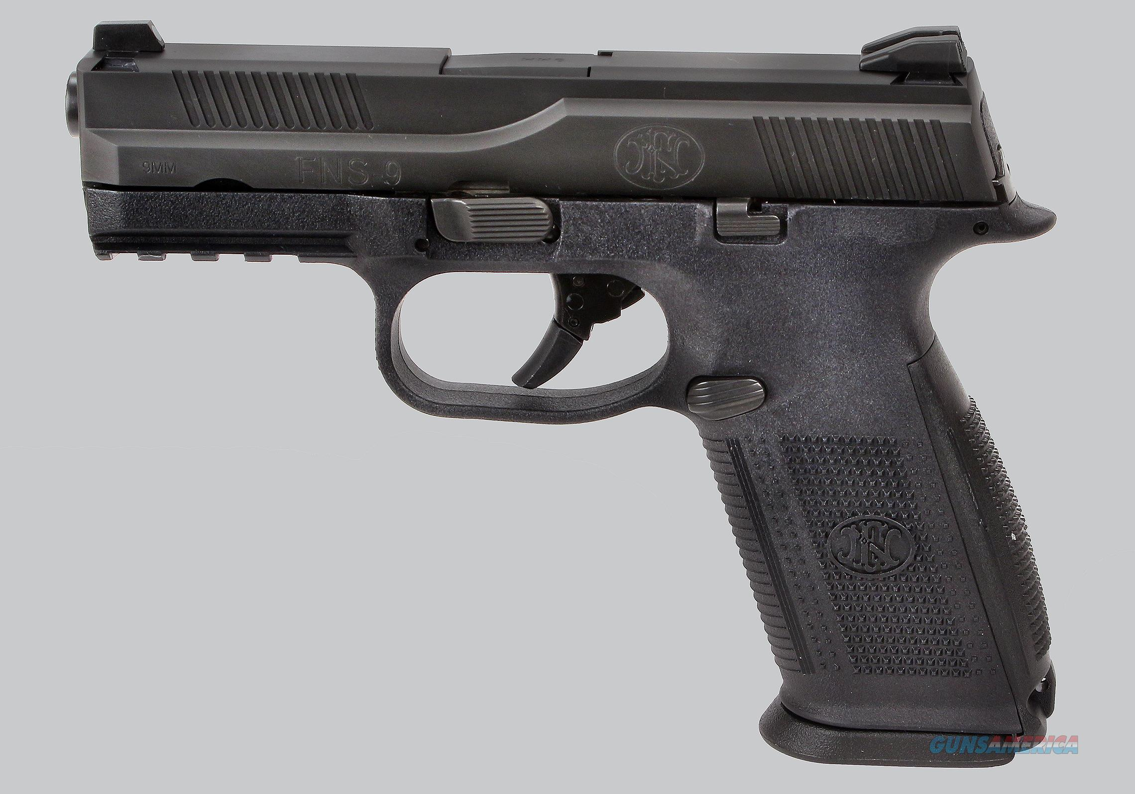 FN 9mm FNS9 Pistol  Guns > Pistols > FNH - Fabrique Nationale (FN) Pistols > FNS