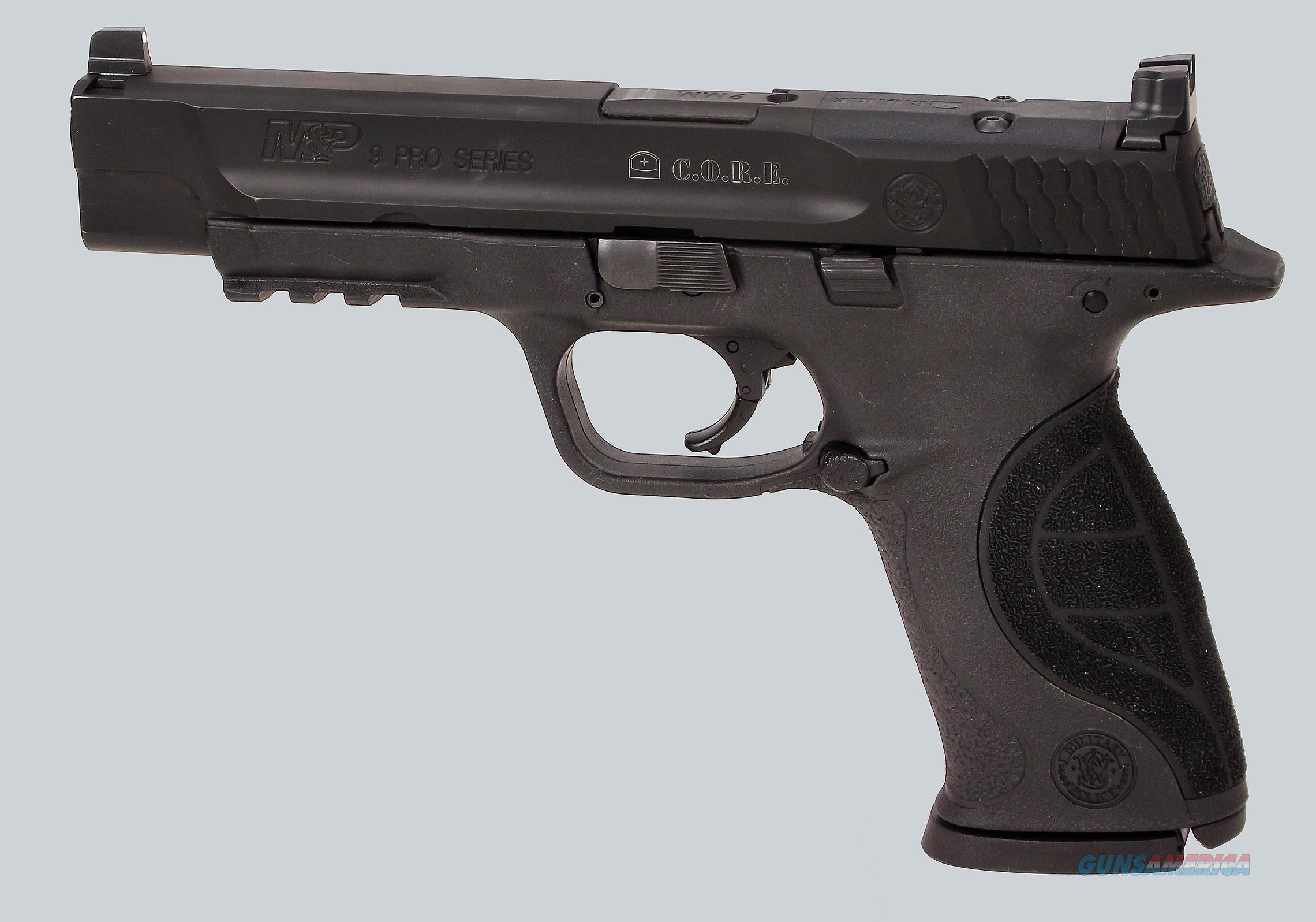 Smith & Wesson 9mm M&P Pro Series Pistol  Guns > Pistols > Smith & Wesson Pistols - Autos > Polymer Frame