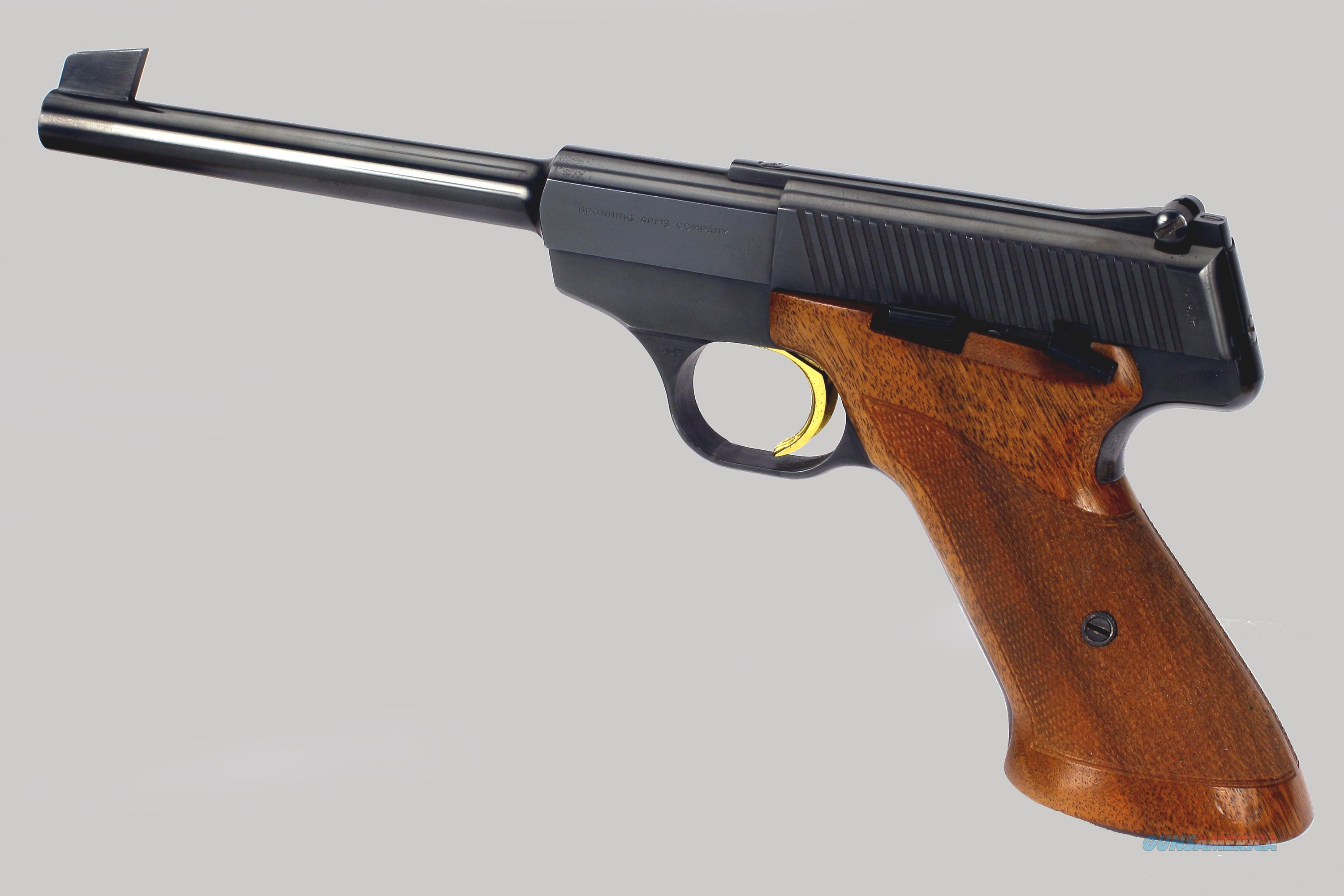 Browning Challenger 22 Pistol Shooting Browning Challenger