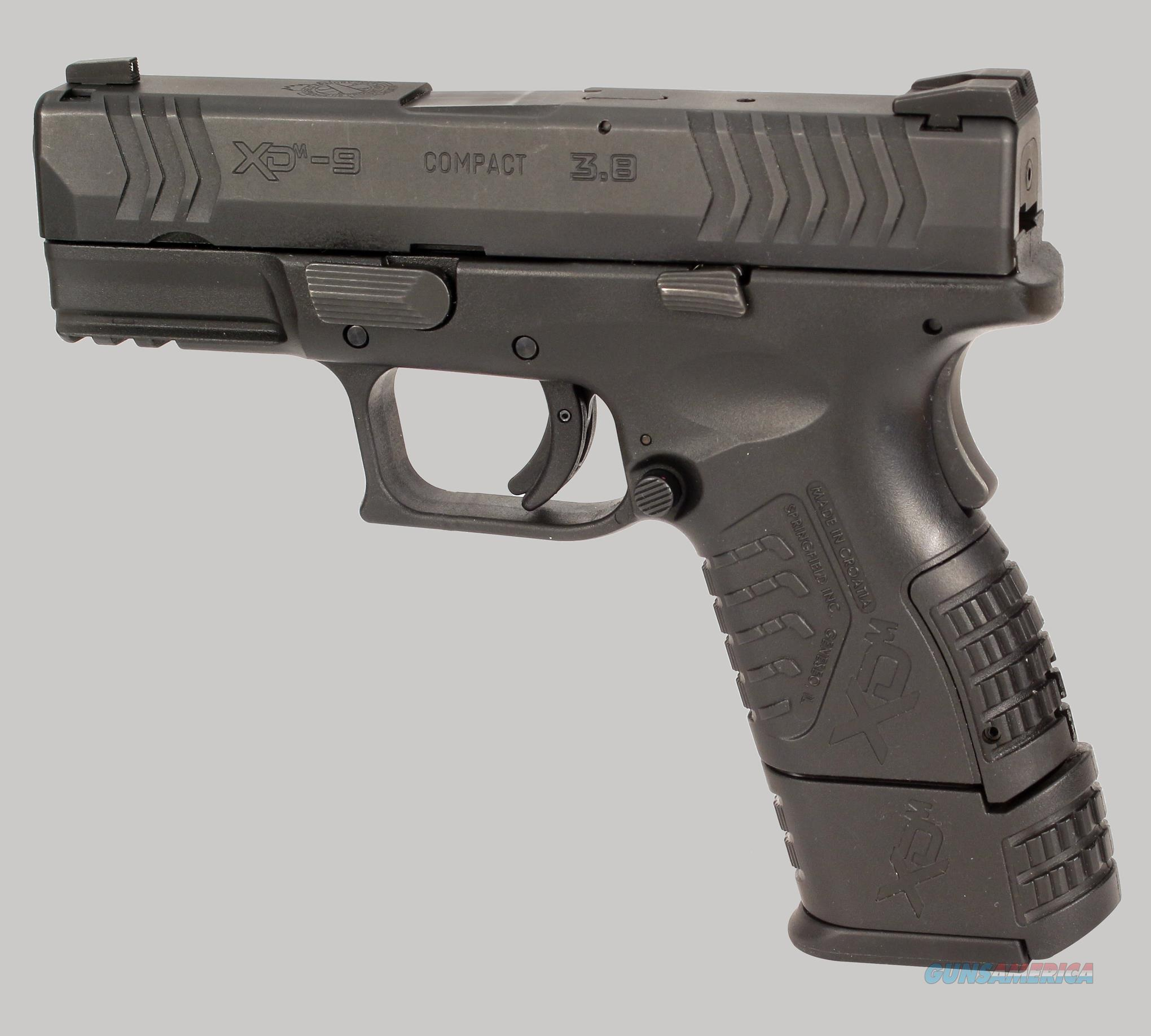 Springfield Armory XD-9 Compact Pistol for sale