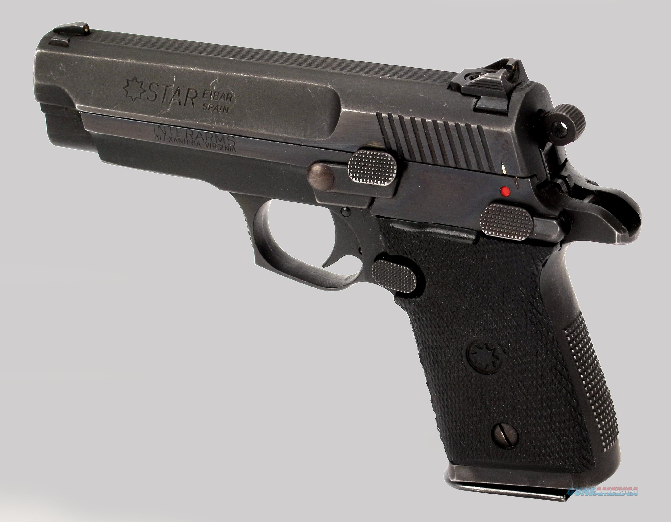 Star Firestar 9mm Pistol  Guns > Pistols > Star Pistols
