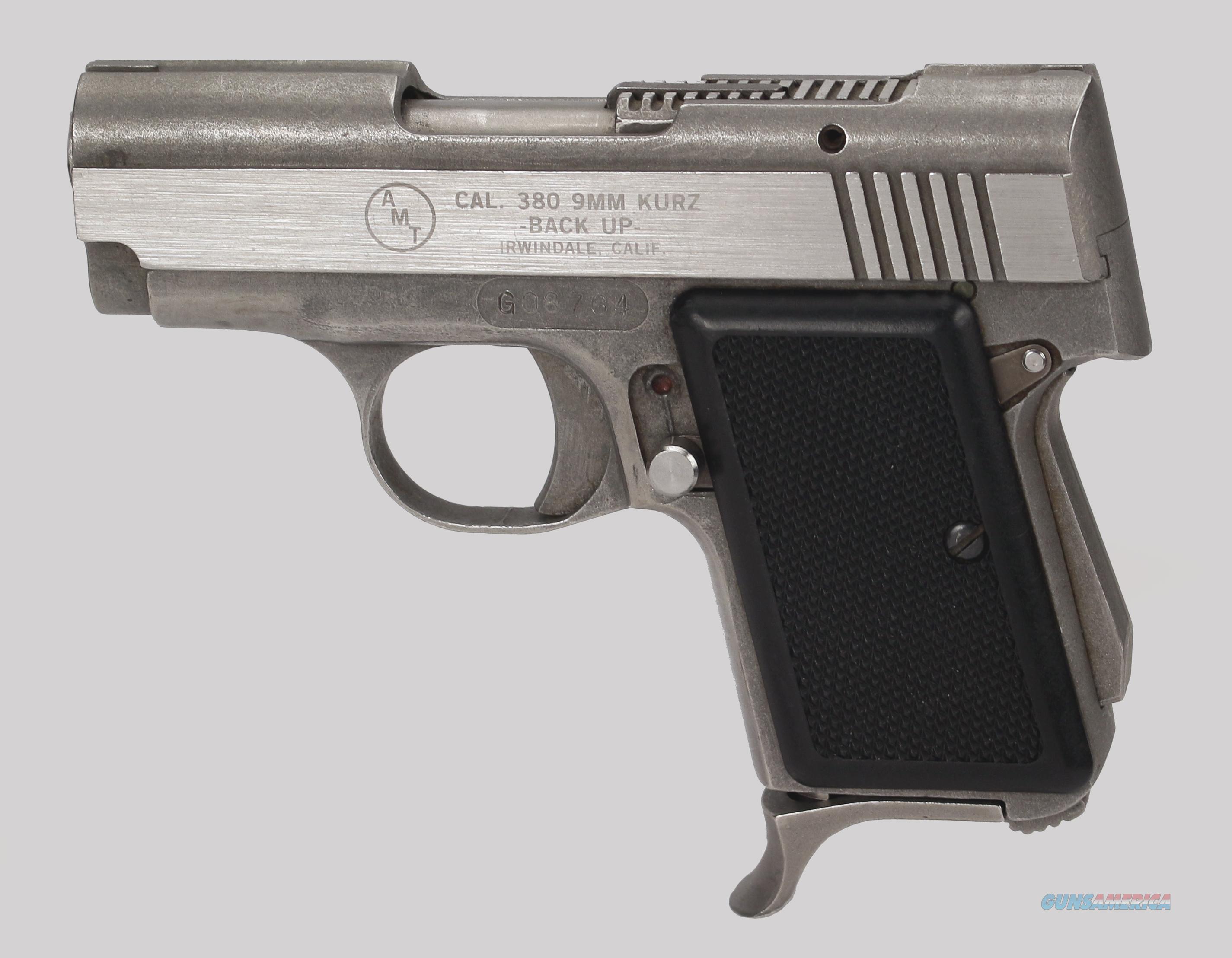 Amt 380cal Model Backup Pistol For Sale