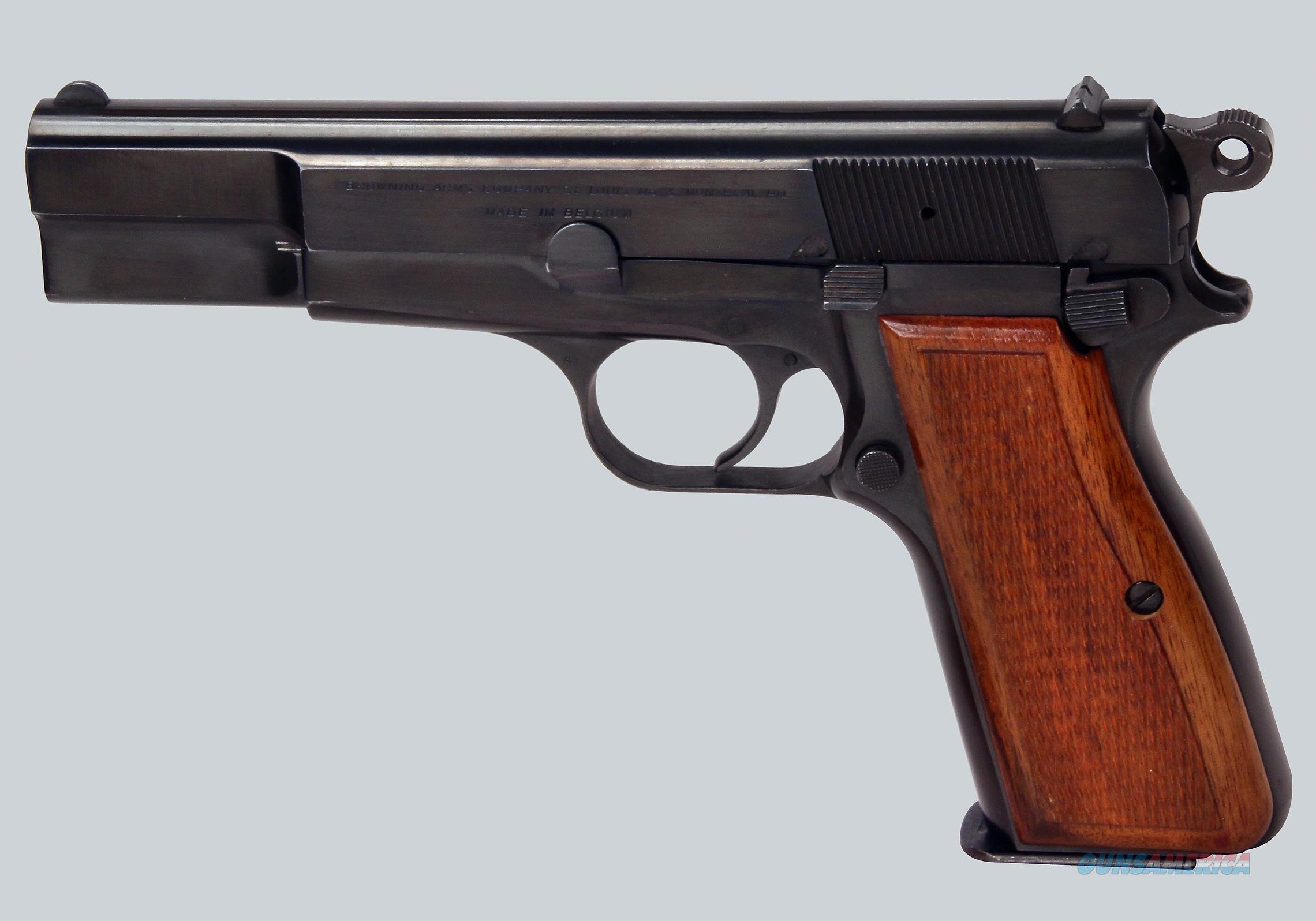 Browning Hi Power 9mm Pistol  Guns > Pistols > Browning Pistols > Hi Power