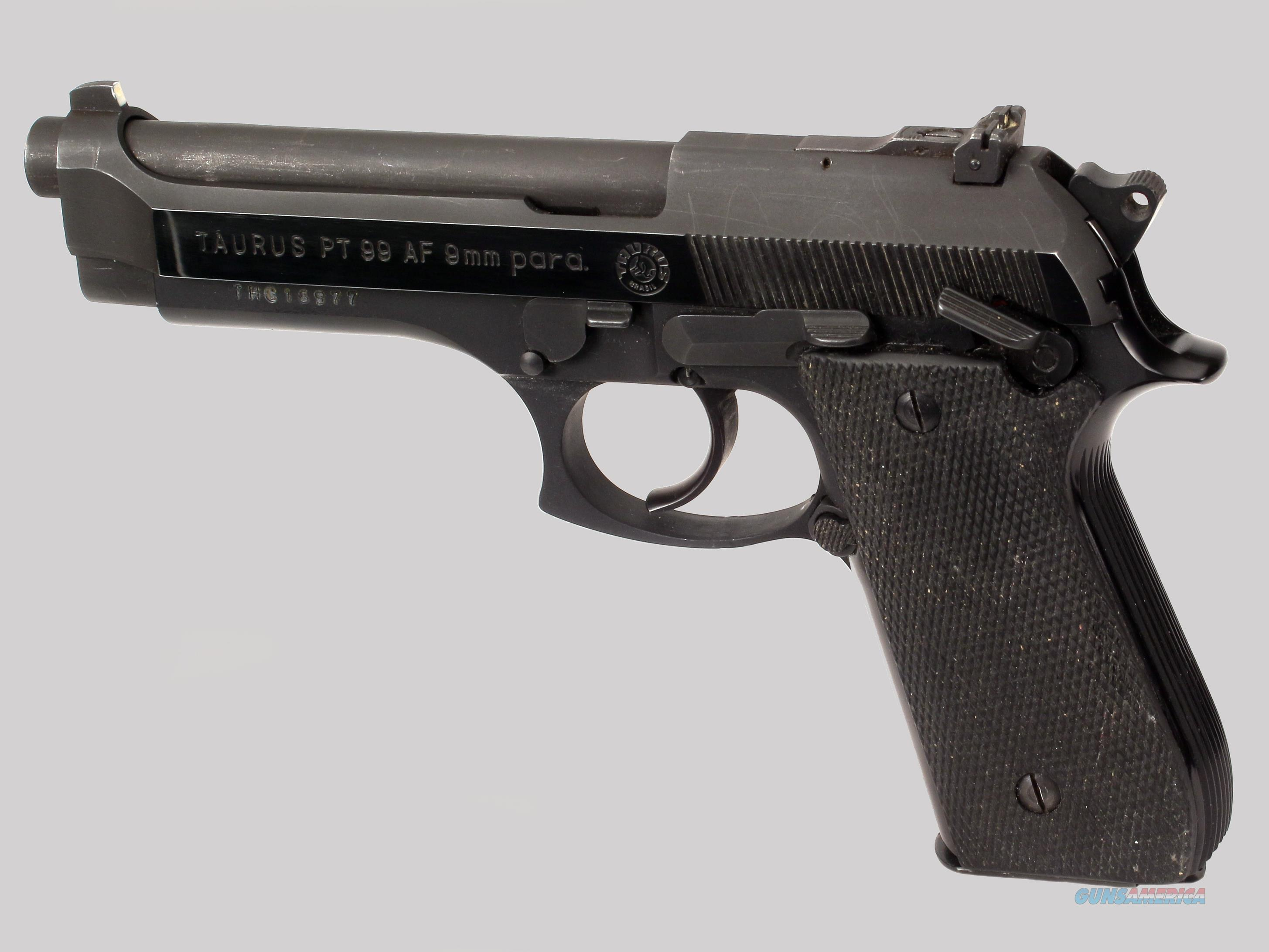 taurus 9mm pistol model pt99f for sale