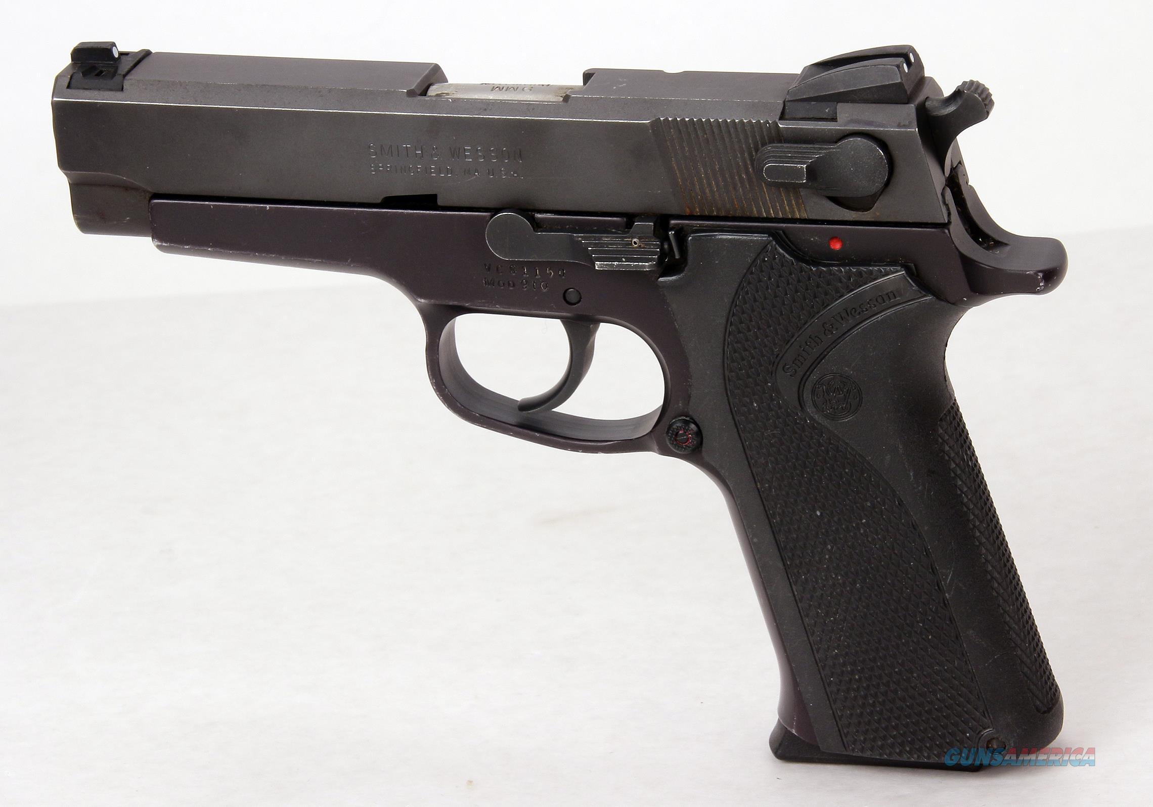 Smith & Wesson 9mm Model 910 Pistol  Guns > Pistols > Smith & Wesson Pistols - Autos > Alloy Frame