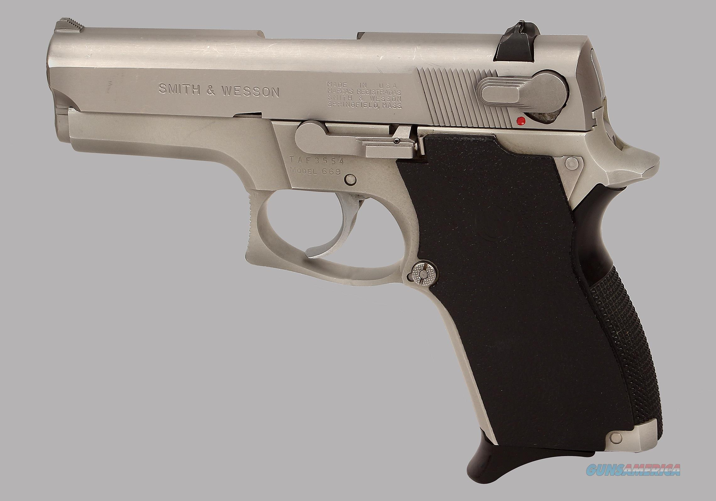 Smith & Wesson 9mm Model 669 Pistol  Guns > Pistols > Smith & Wesson Pistols - Autos > Steel Frame