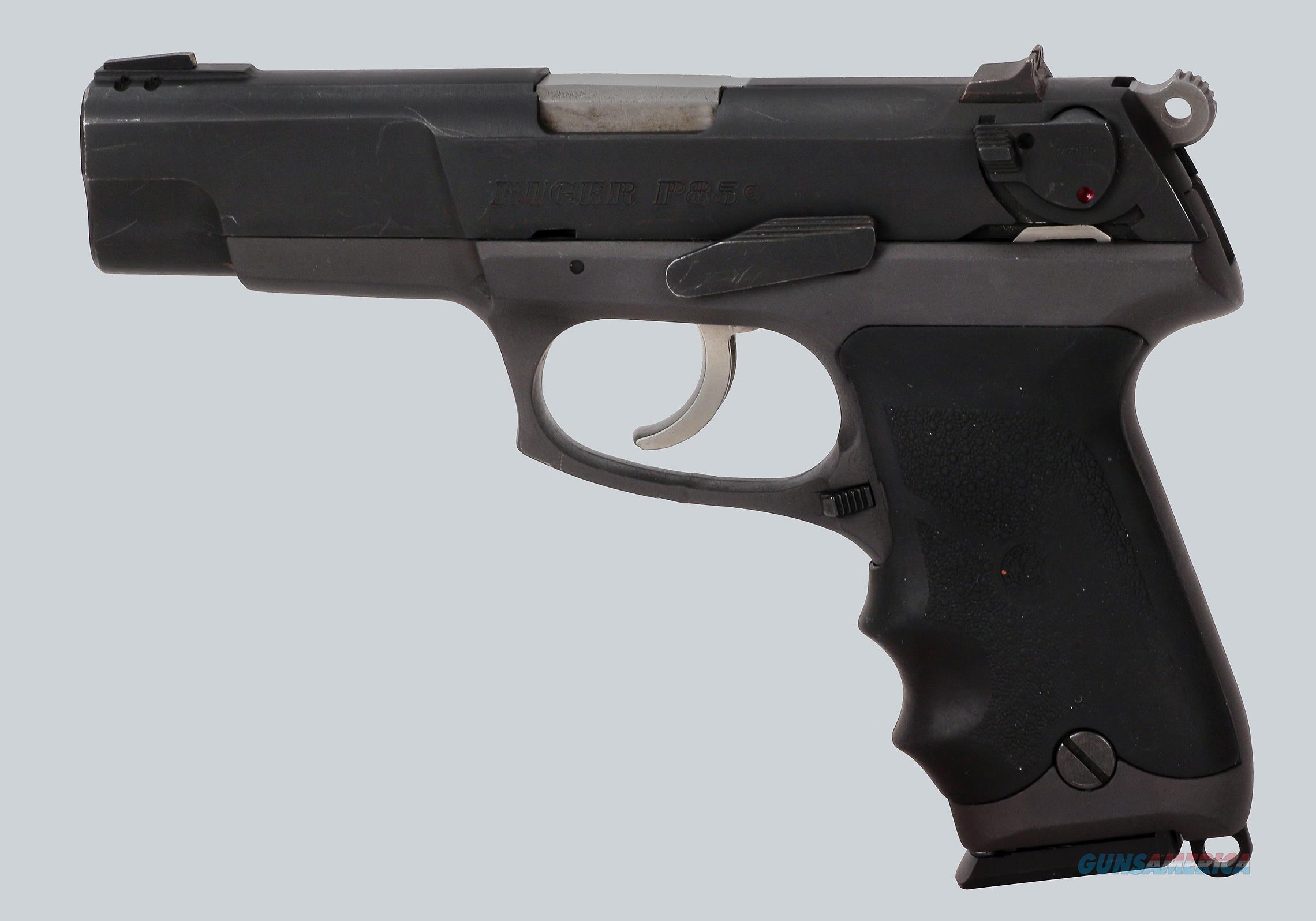 "Ruger 9mm P85 Pistol, 4.5"" Barrel  Guns > Pistols > Ruger Semi-Auto Pistols > P-Series"