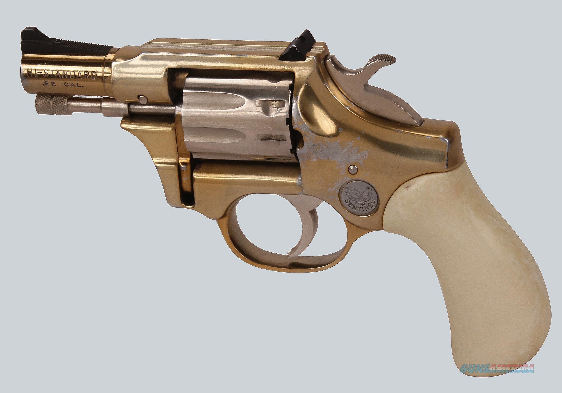 High Standard 22LR R-101 Sentinel Revolver  Guns > Pistols > High Standard Pistols