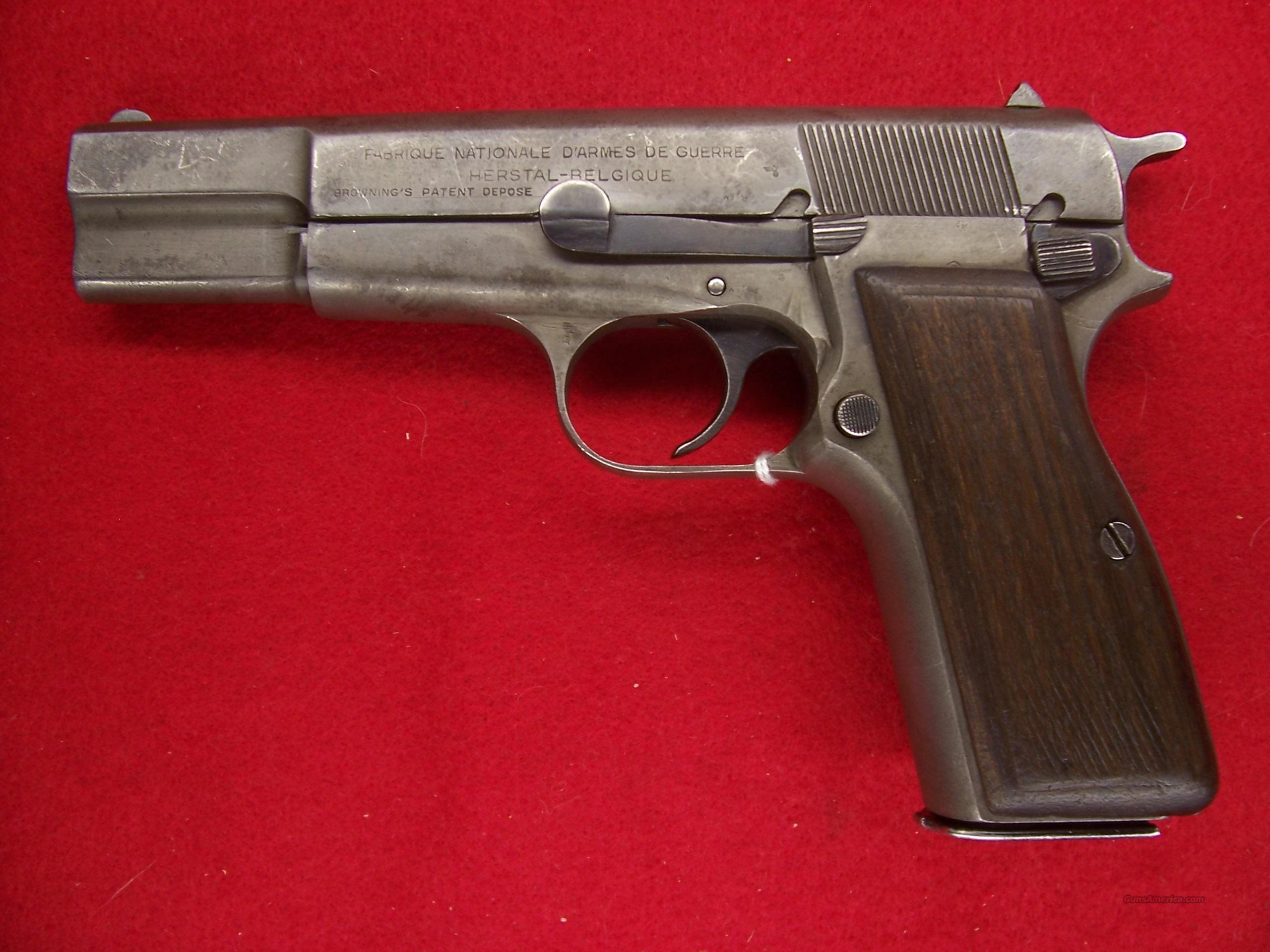 FN Hi-POWER WW-II .9MM WAFFENAMPT PROOTED MATCHING BARREL,SLIDE&FRAME  Guns > Pistols > Browning Pistols > High Power