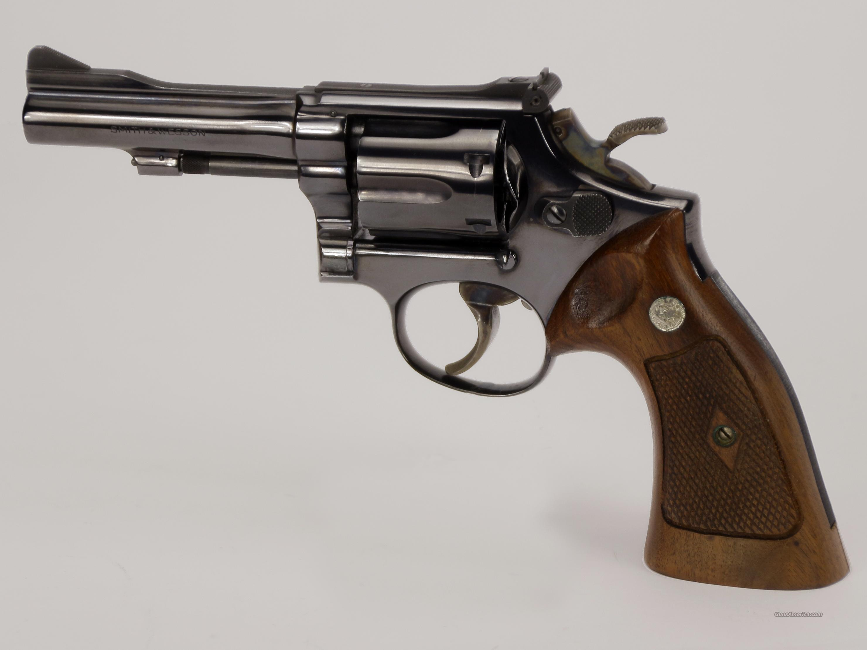 Smith & Wesson Model 15 Revolver  Guns > Pistols > Smith & Wesson Revolvers > Full Frame Revolver