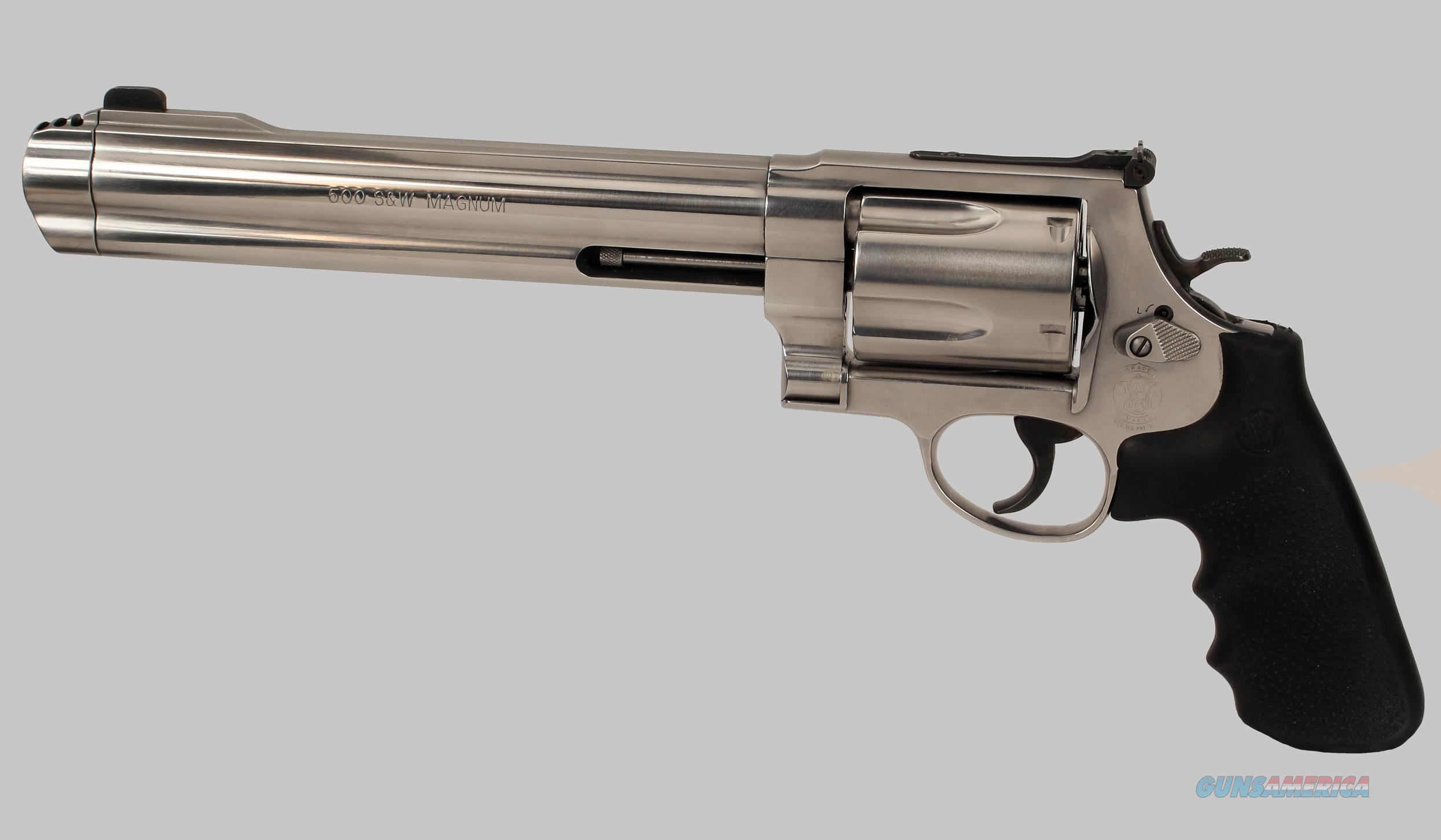 Smith & Wesson 500 Stainless Steel Revolver  Guns > Pistols > Smith & Wesson Revolvers > Full Frame Revolver