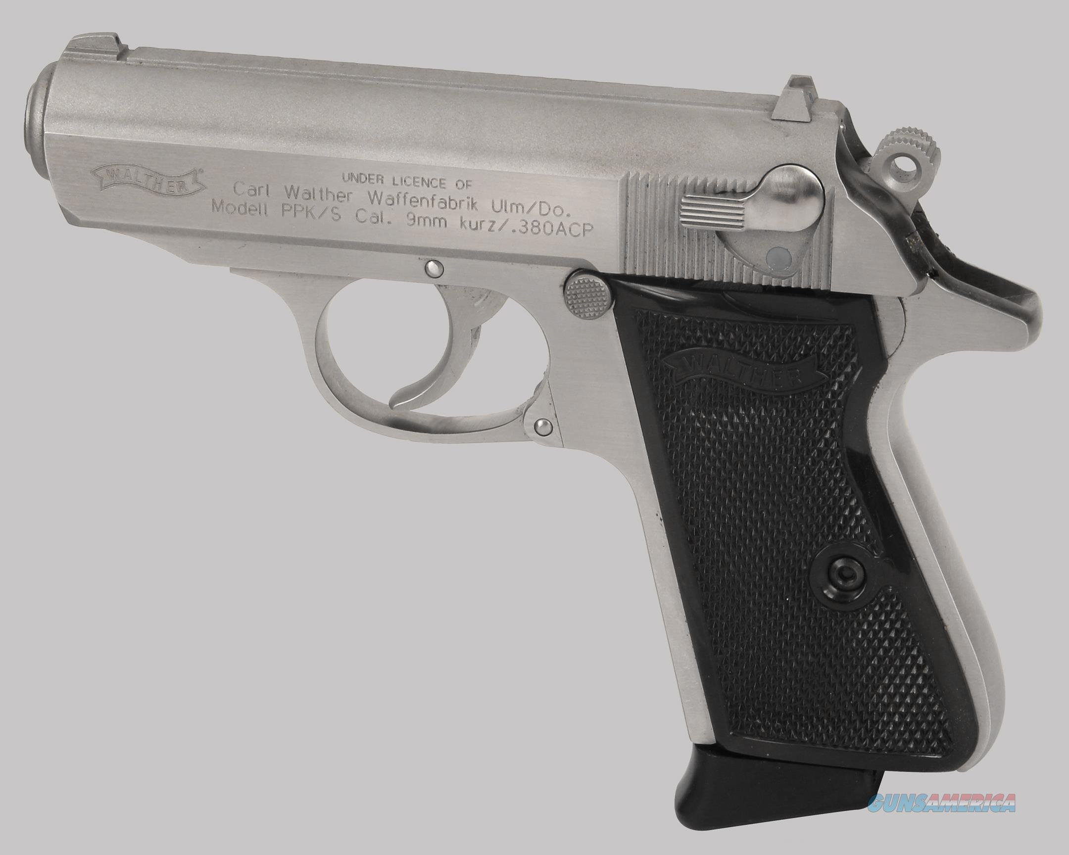 Walther PPK/S 380cal Pistol  Guns > Pistols > Walther Pistols > Post WWII > PPK Series