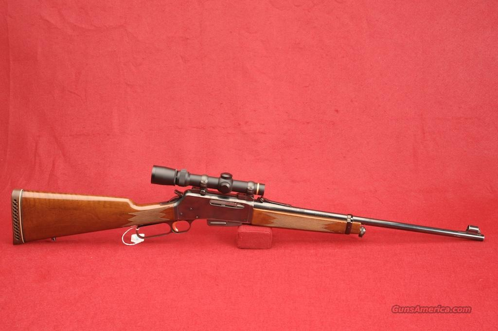 "BROWNING LEVER-ACTION RIFLE MOD-BLR-81  .308 CAL 20"" BLUE BARREL  Guns > Rifles > Browning Rifles > Lever Action"