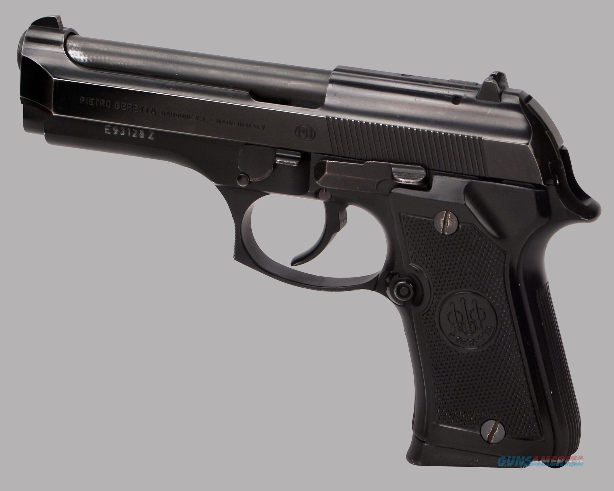 Handguns 9mm Beretta