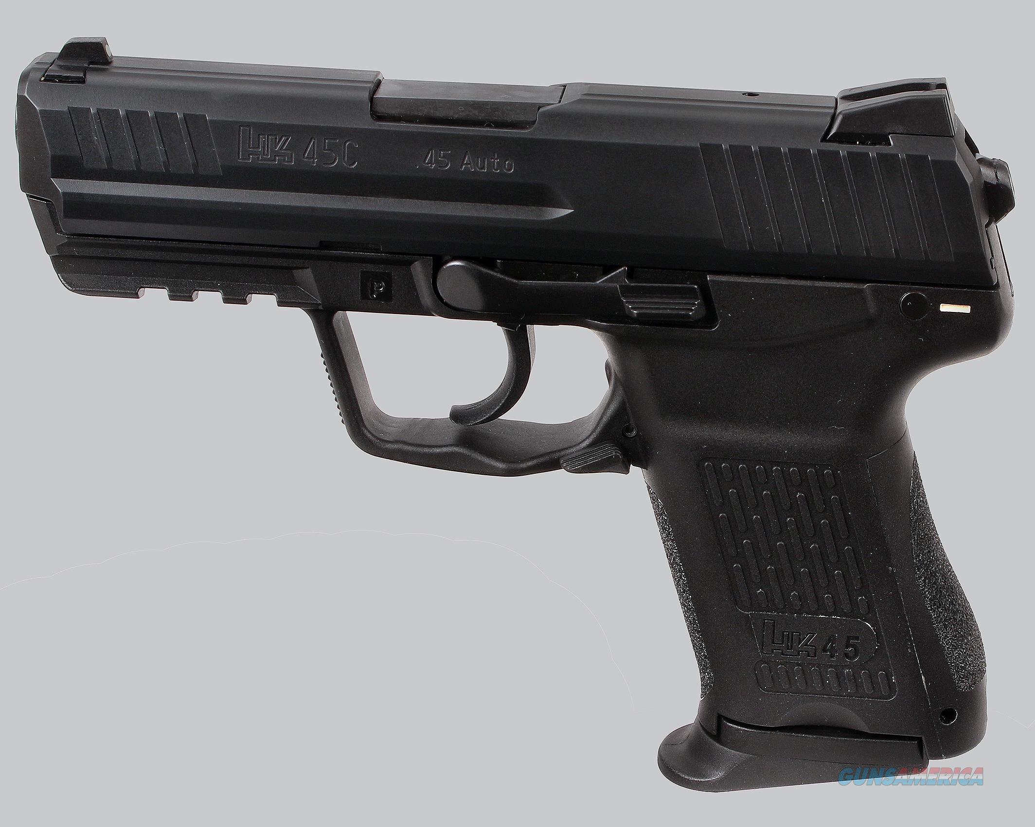 H&K 45acp HK45C Pistol  Guns > Pistols > Heckler & Koch Pistols > Polymer Frame
