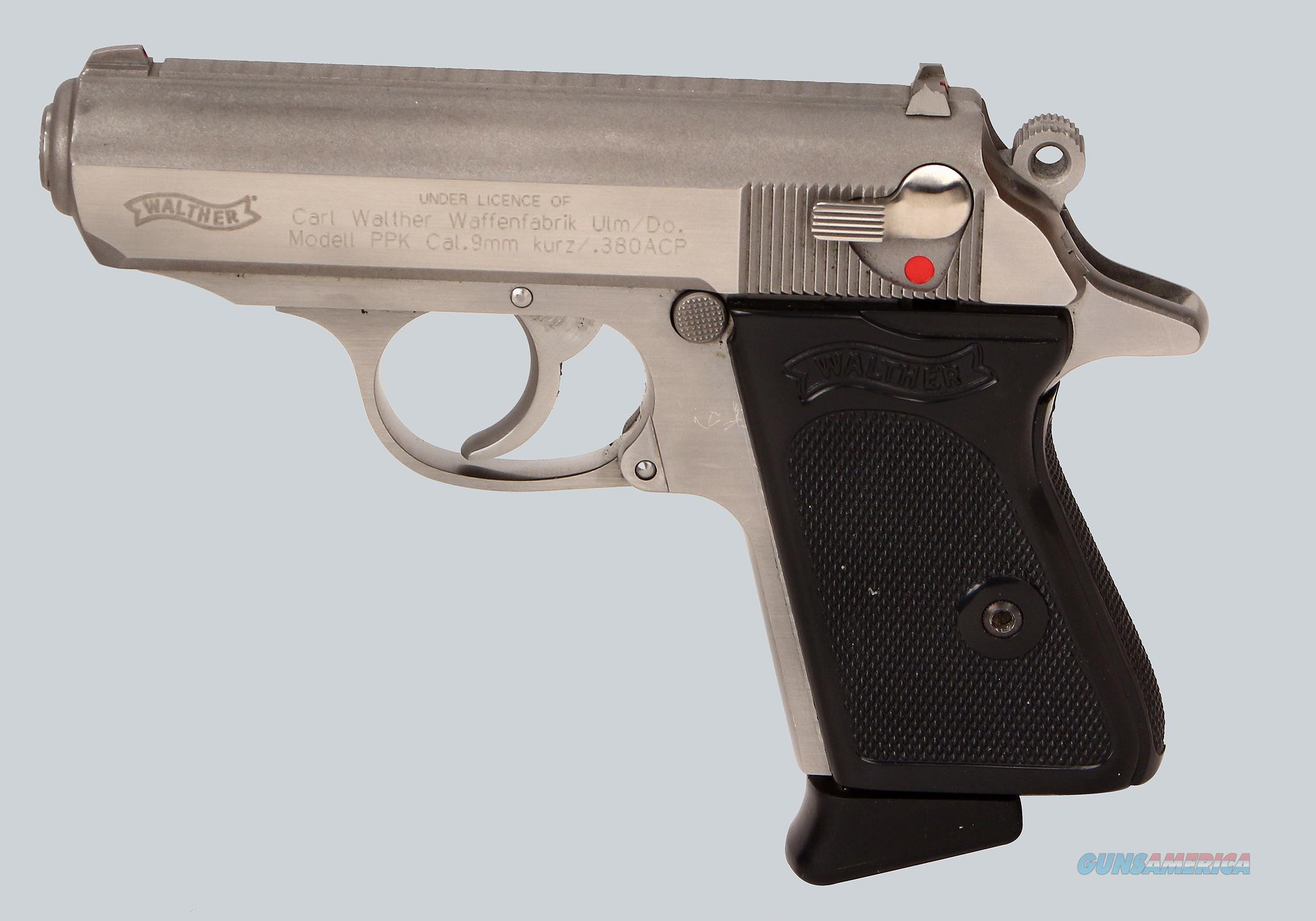 Walther 380acp PPK Pistol  Guns > Pistols > Walther Pistols > Post WWII > PPK Series